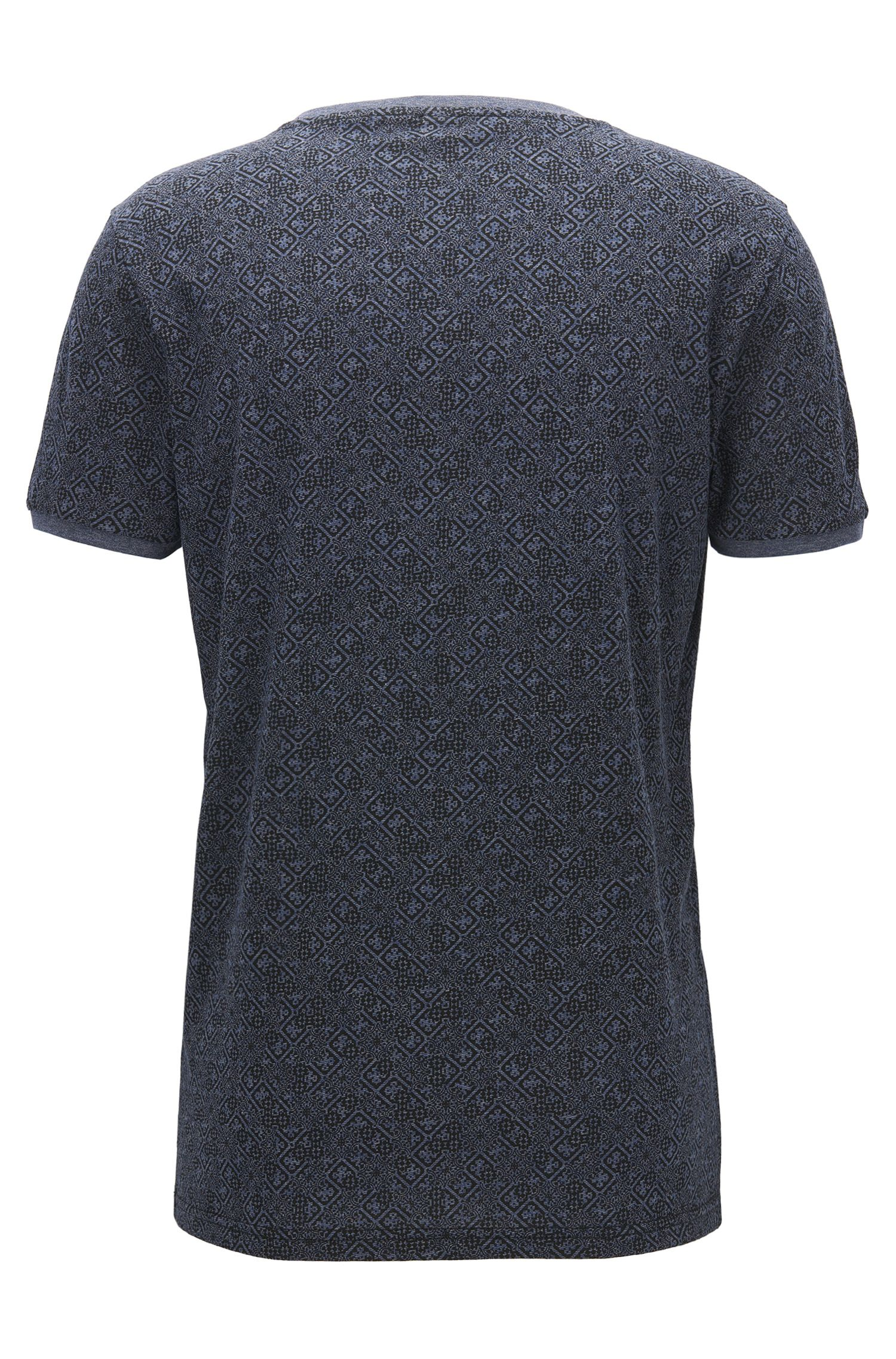 T-shirt regular fit in cotone stampato