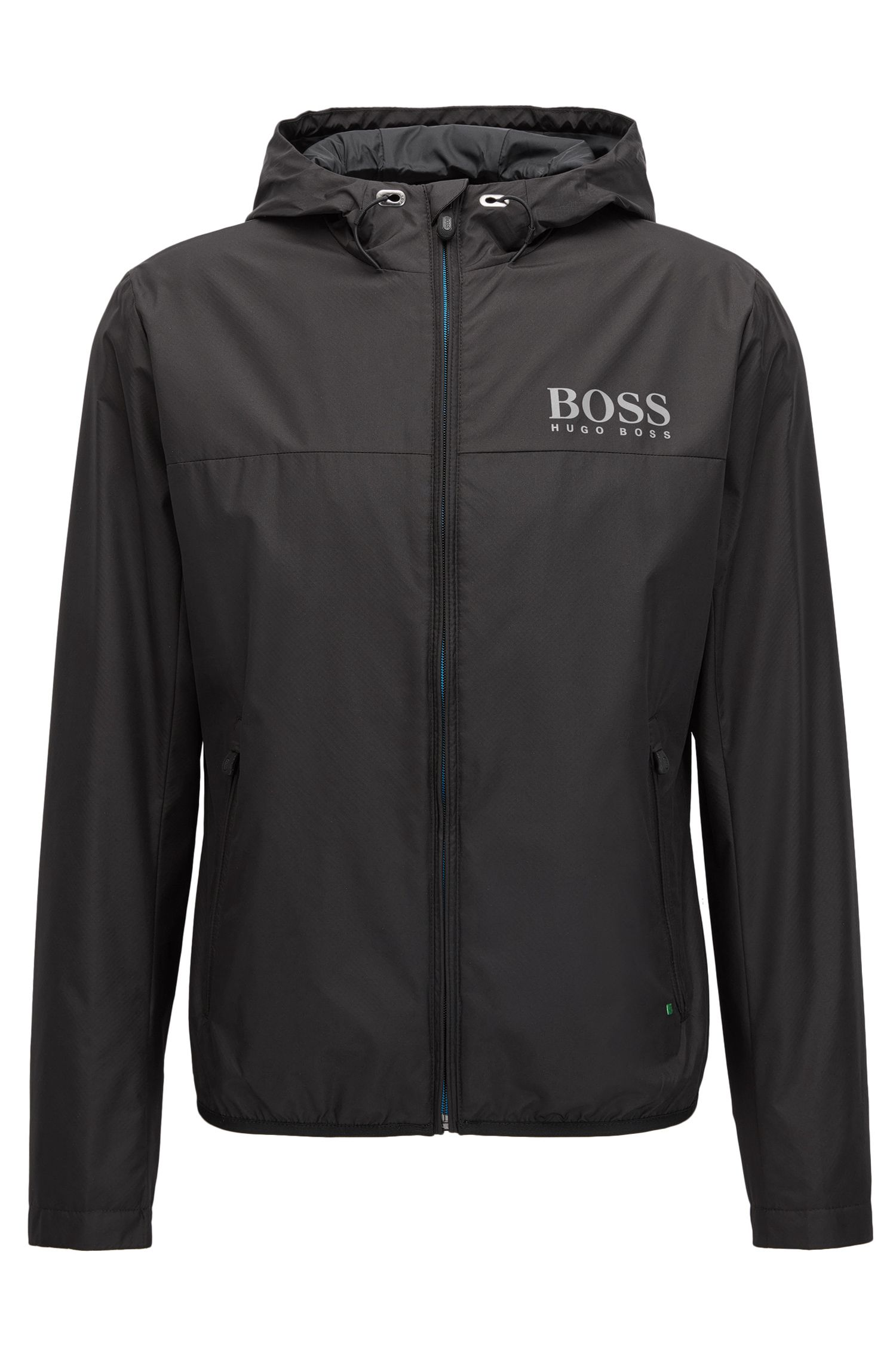 Water-resistant regular-fit jacket in technical fabric