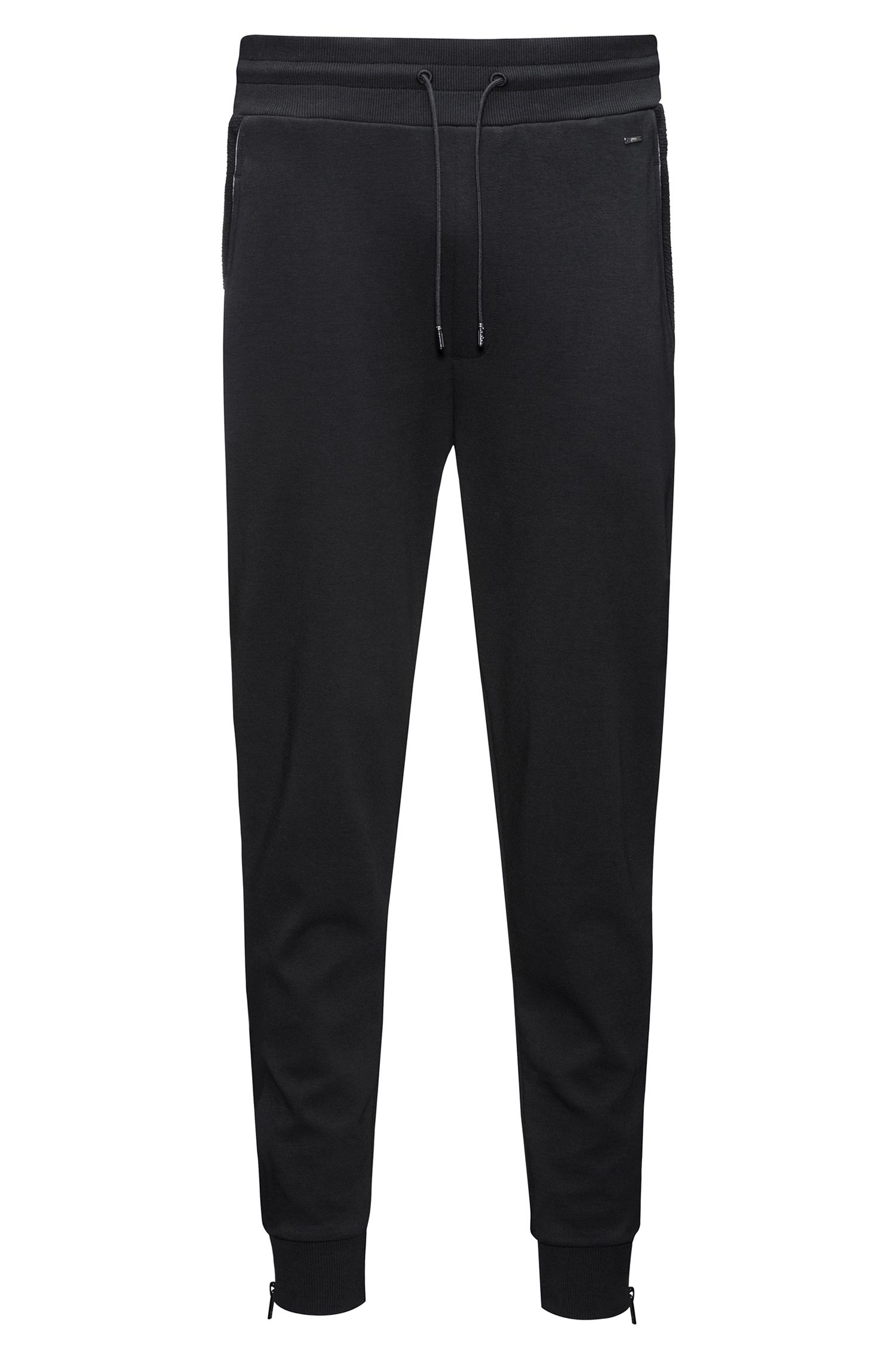 Regular-fit joggingbroek van interlocked katoens