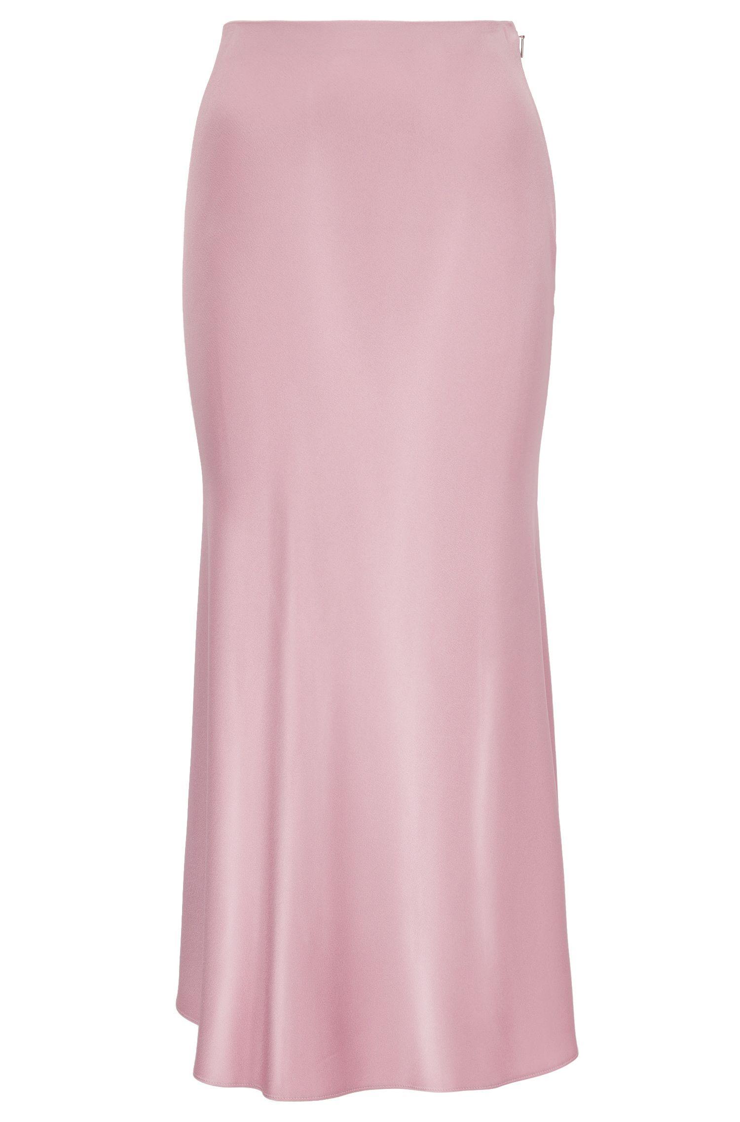 A-line skirt in fluid fabric