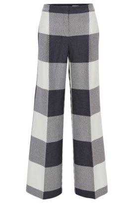 Pantalon large Relaxed Fit en coton , Fantaisie