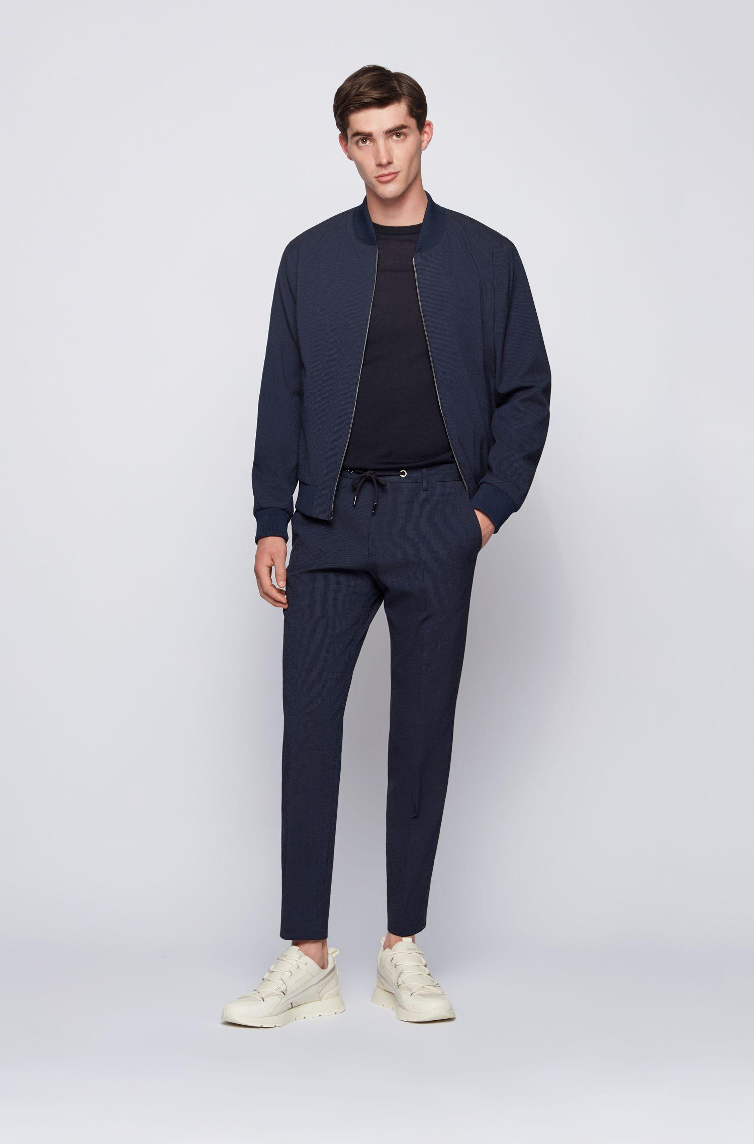 Hugo Boss - Jersey de cuello redondo en lana virgen - 2