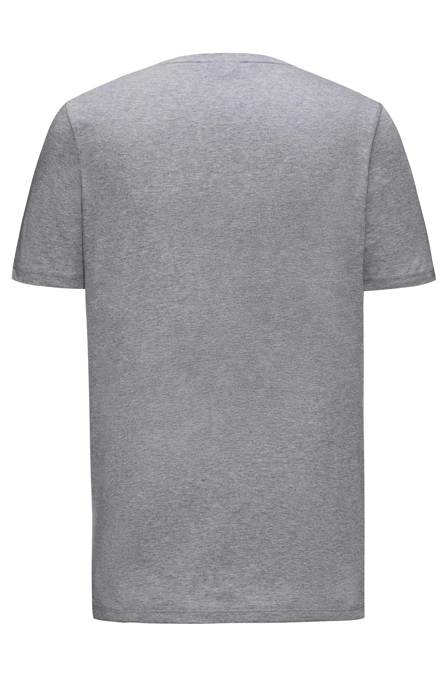 T-shirt regular fit in morbido cotone con logo