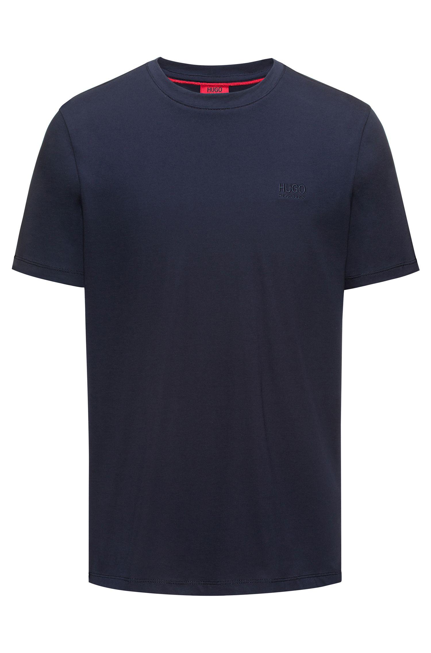 Regular-fit logo T-shirt in soft cotton