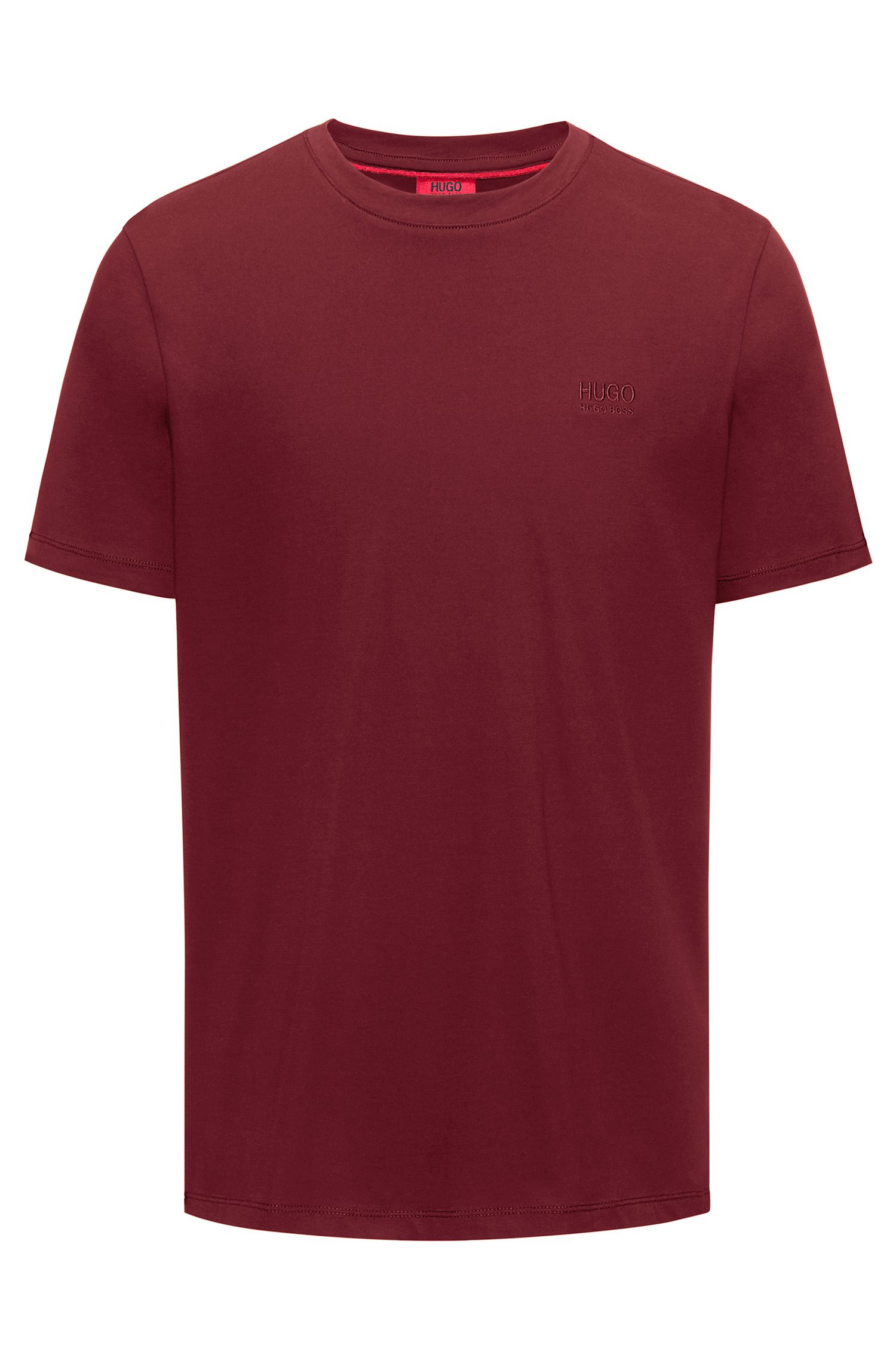 T-shirt regular fit in morbido cotone con logo