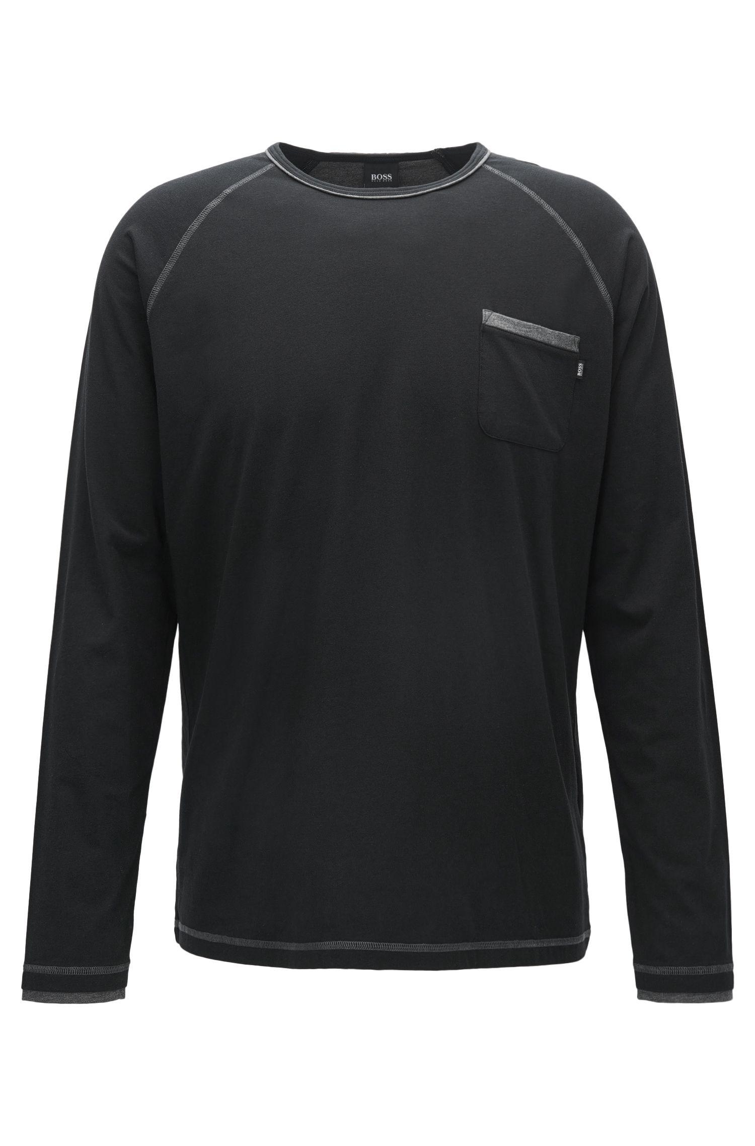 T-shirt del pigiama regular fit in misto cotone