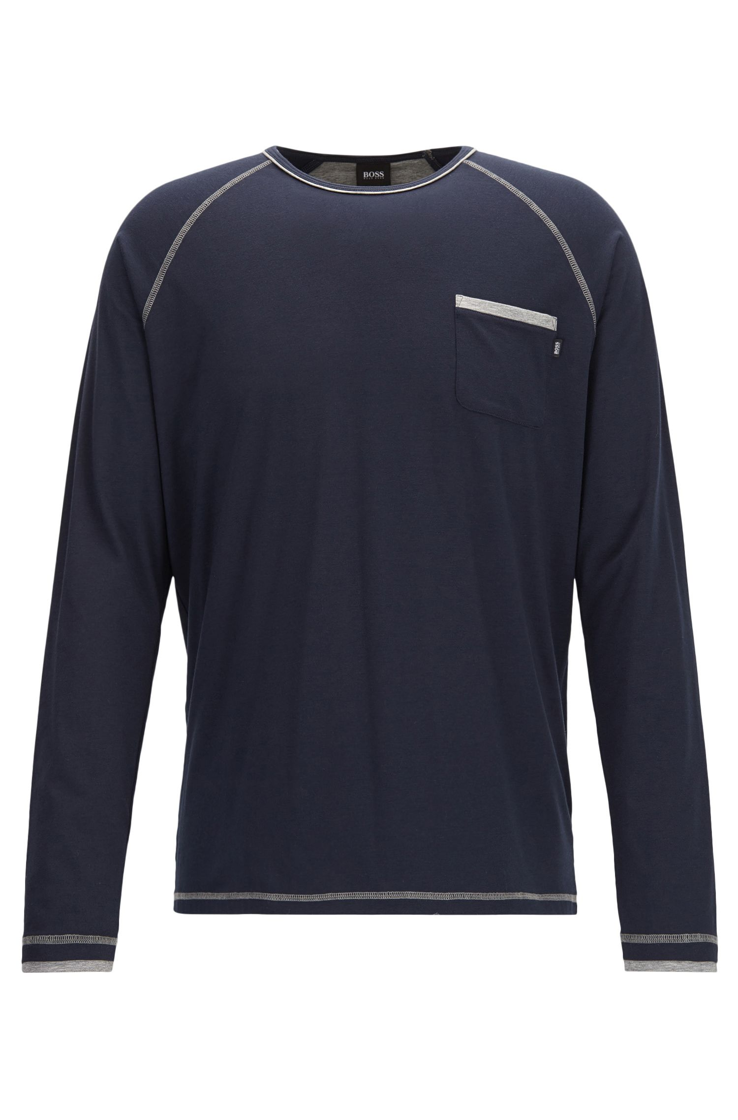 T-shirt del pigiama regular fit in misto cotone