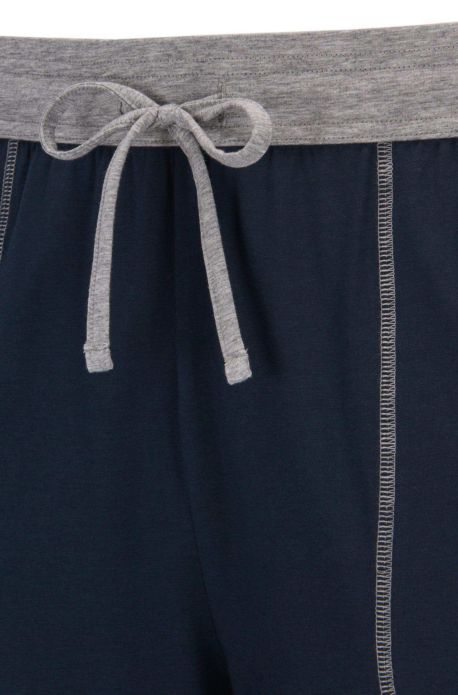 Pyjama-Hose aus elastischem Baumwoll-Mix mit Modal