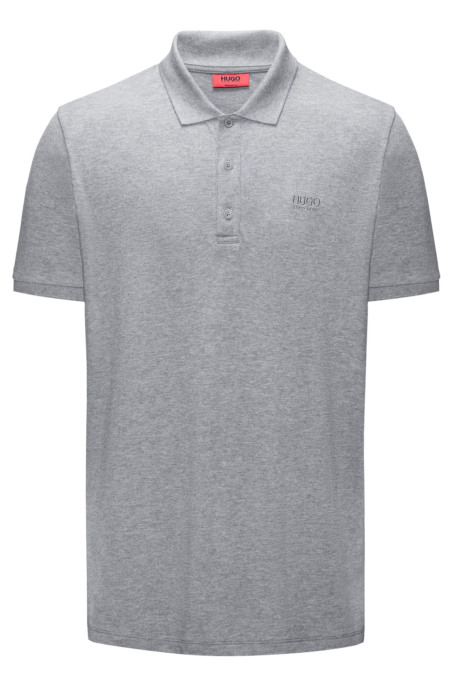 Regular-fit polo shirt in soft cotton