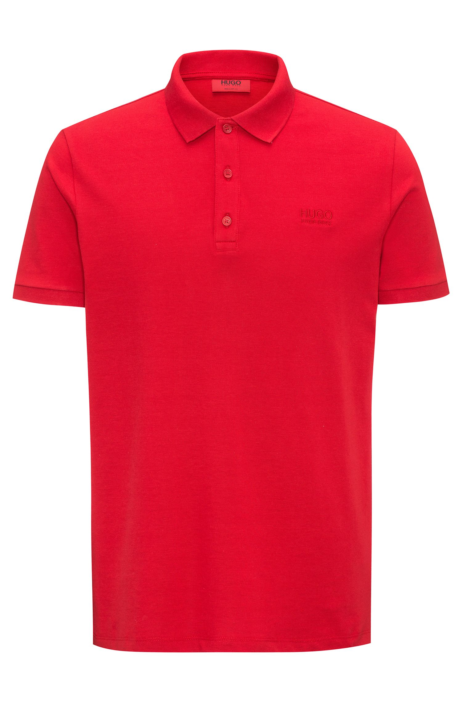 Polo regular fit en algodón suave
