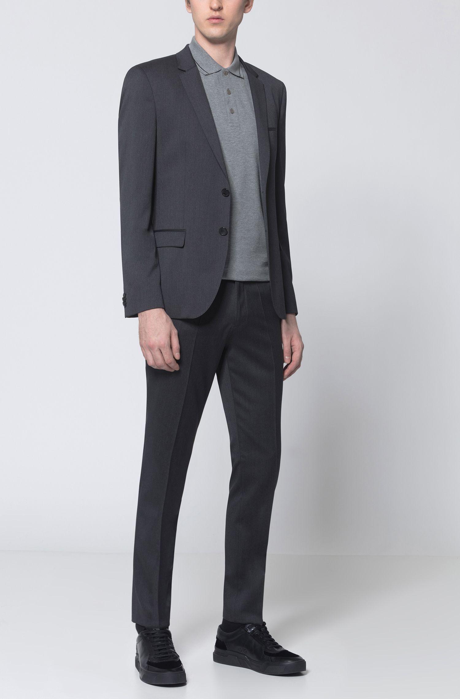 Polo Regular Fit en coton avec bordure contrastante