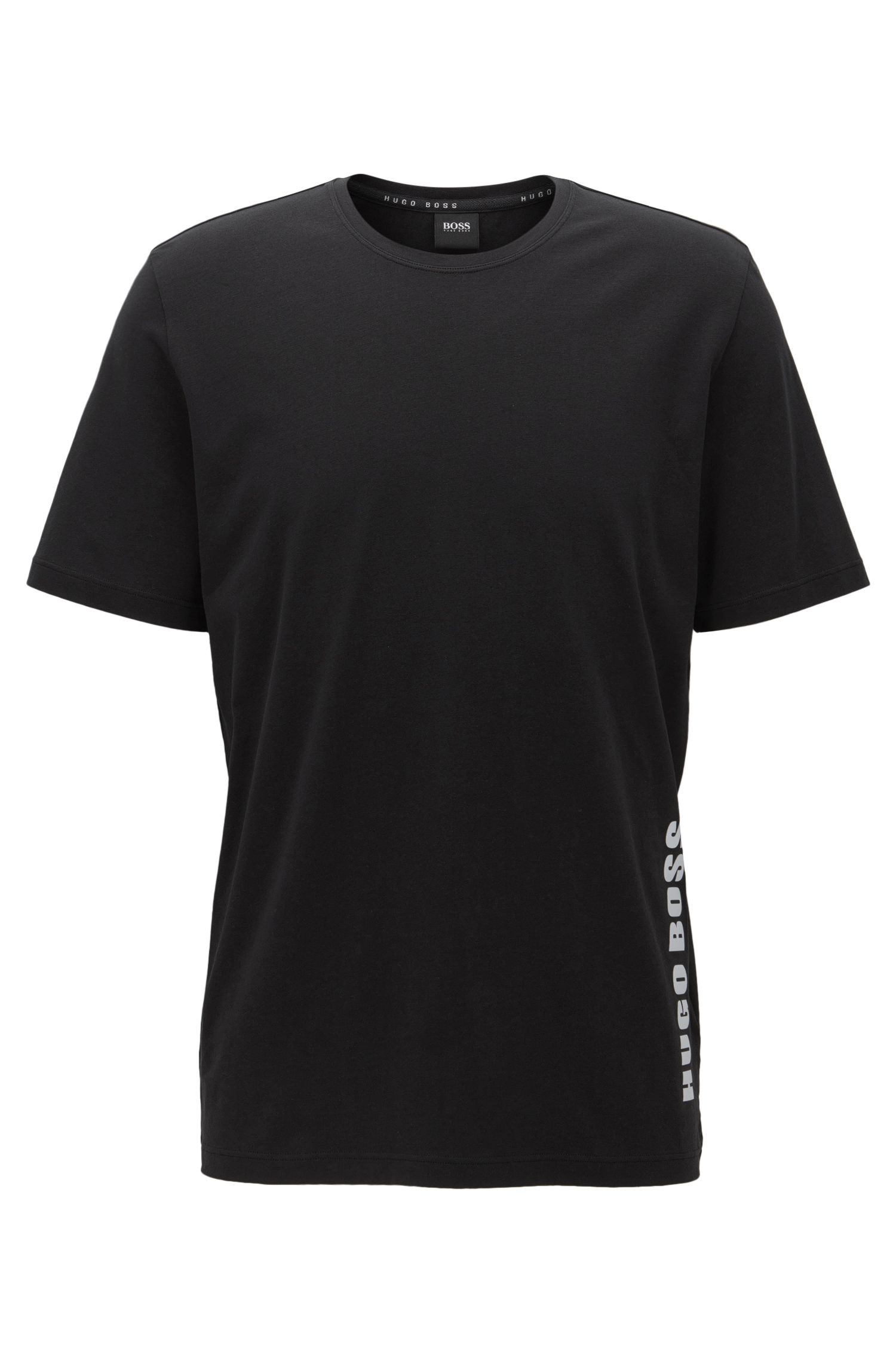 Regular-fit pyjama T-shirt in single jersey