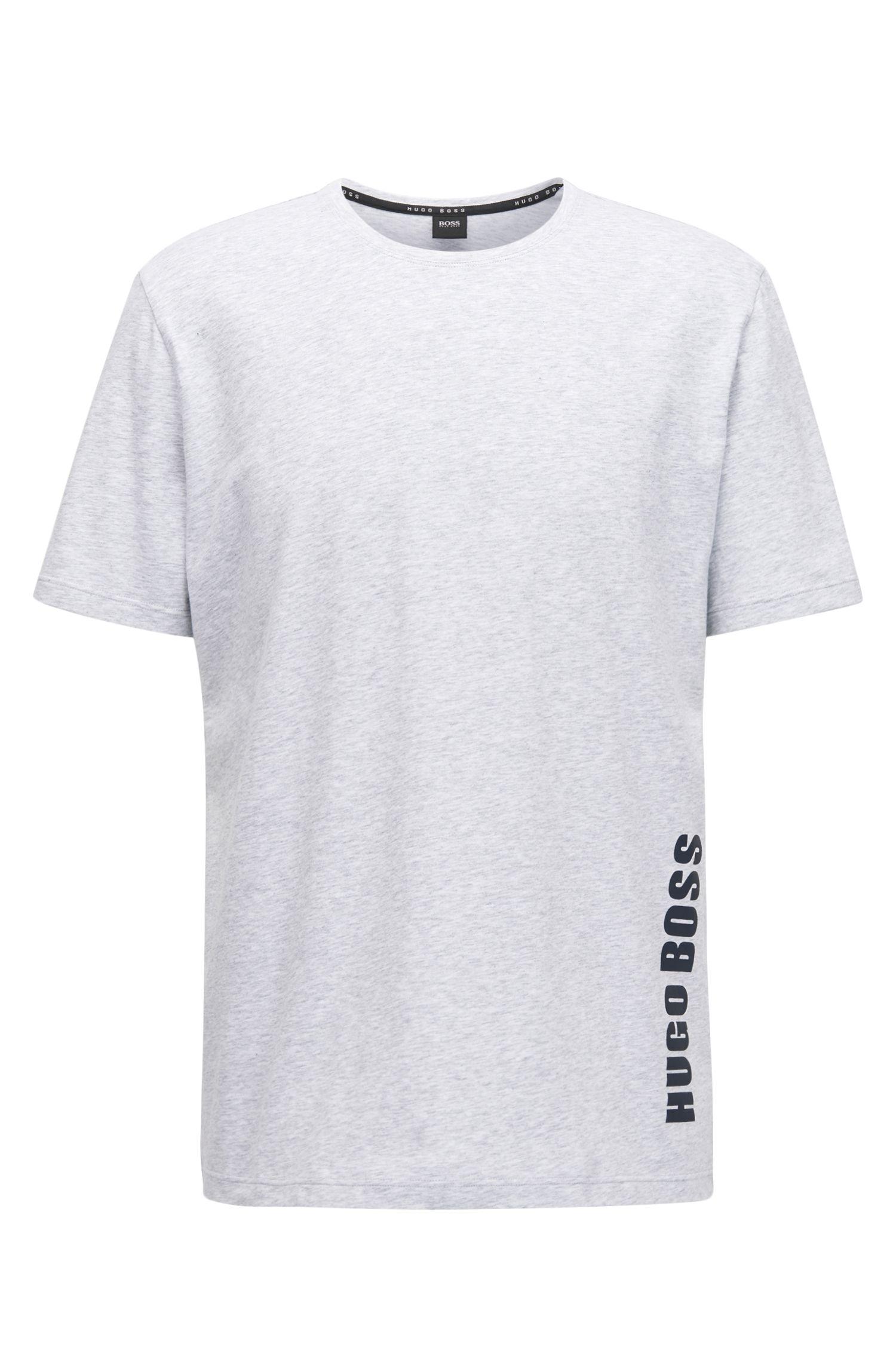 T-shirt de pyjama Regular Fit en jersey simple
