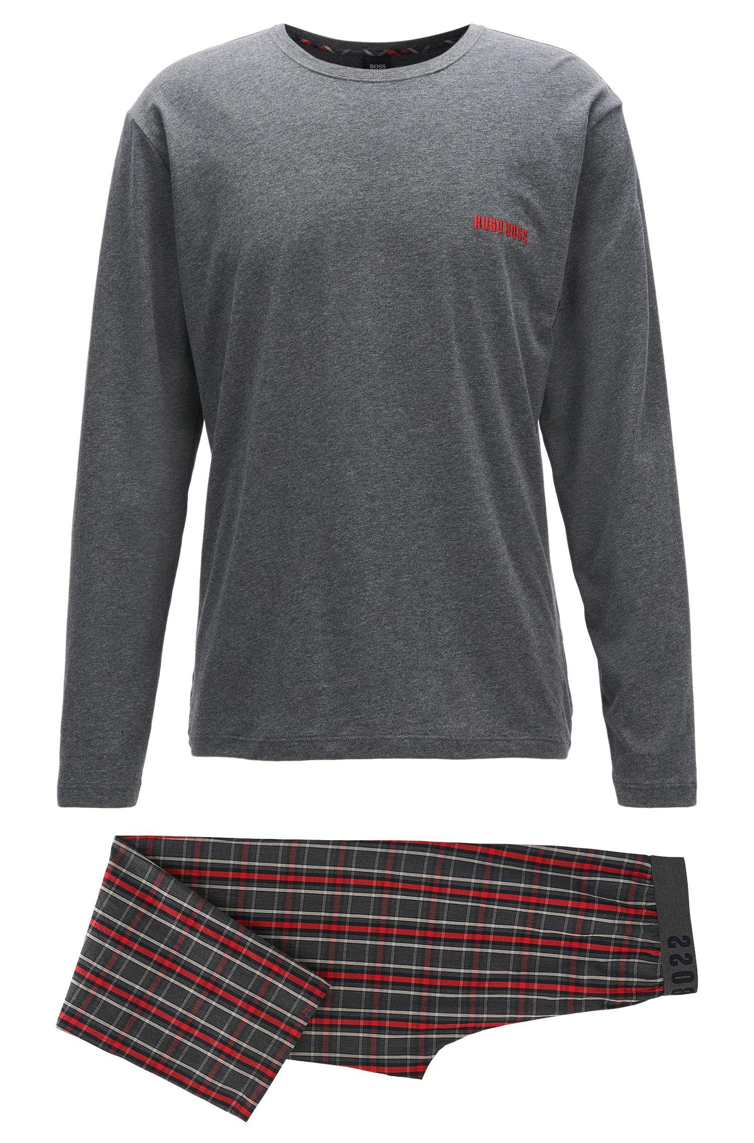 Pyjama Set aus reiner Baumwolle
