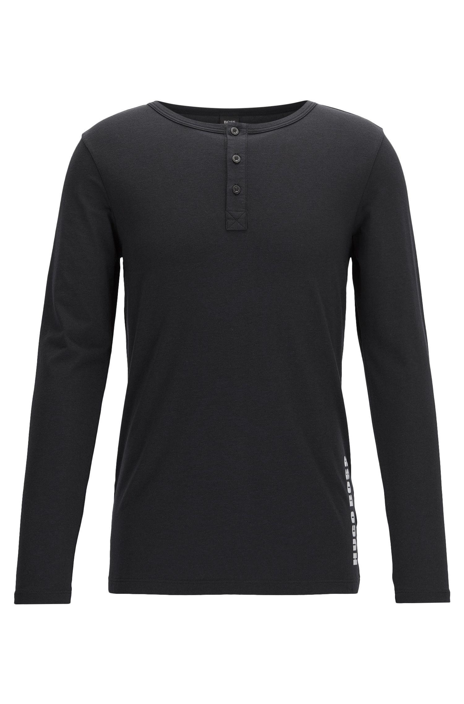 T-shirt sous-vêtement à manches longues en jersey simple