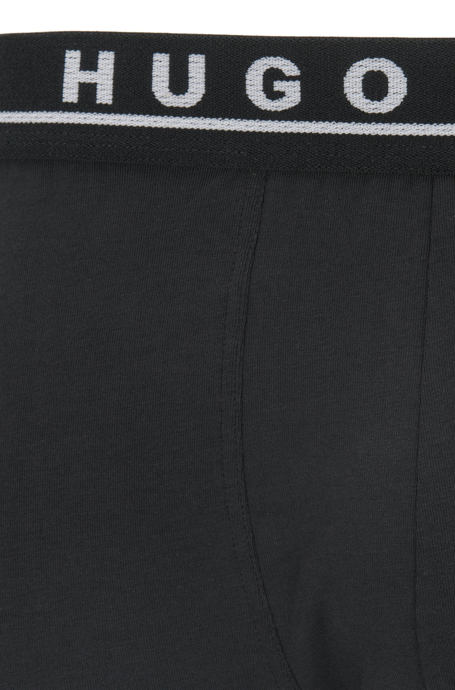 Three-pack of trunks in stretch cotton