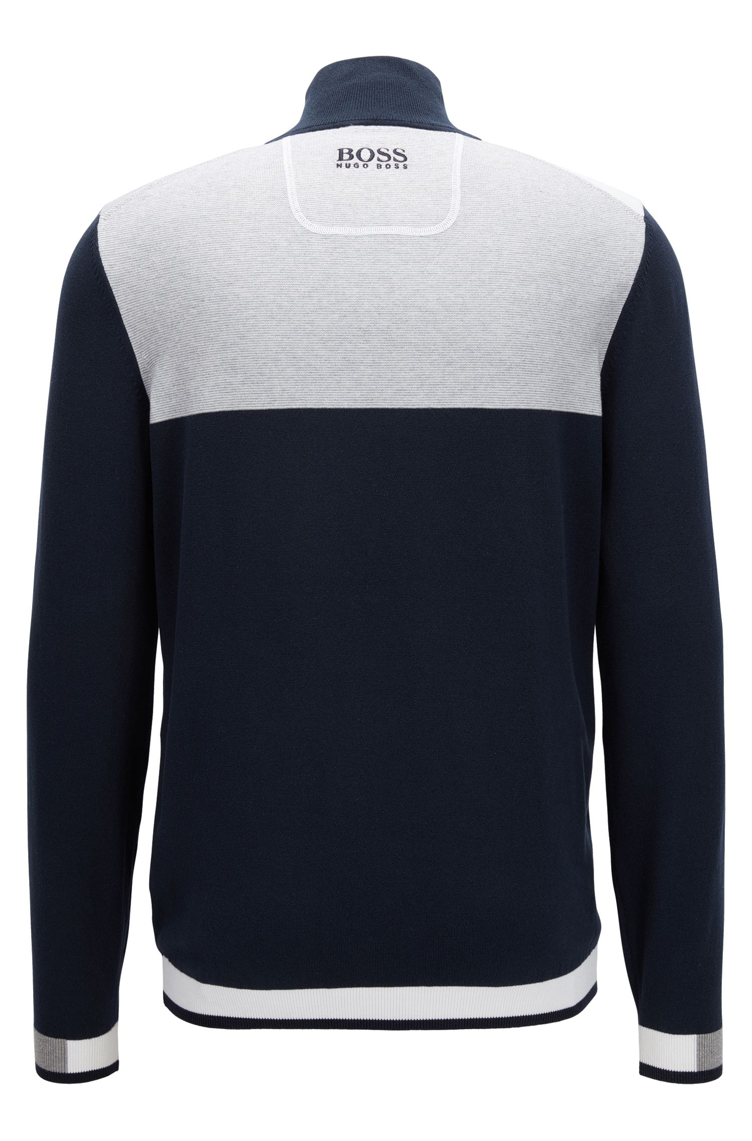 Pullover aus Baumwoll-Mix mit Troyer-Kragen aus der Professional Golf Collection