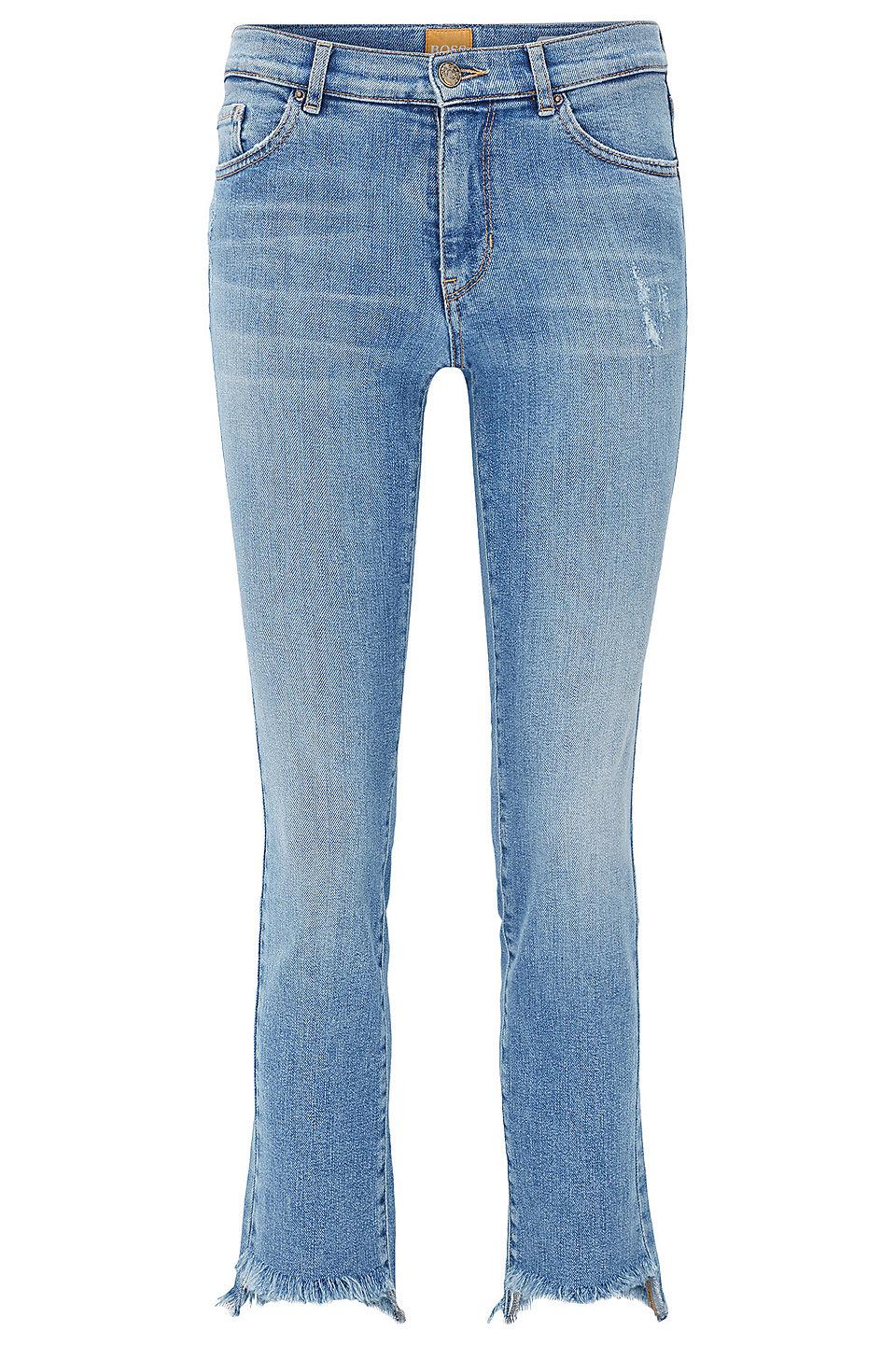 Slim fit stretch jeans damen