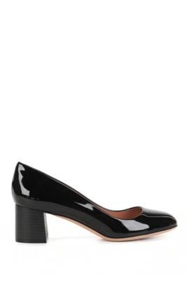 Patent pumps with 50mm heel, Black