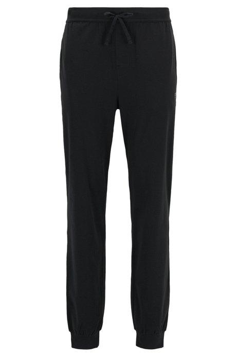 boss pantalon d int rieur resserr au bas des jambes en coton stretch. Black Bedroom Furniture Sets. Home Design Ideas