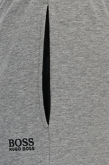 男士棉质收脚运动休闲裤,  033_中灰色