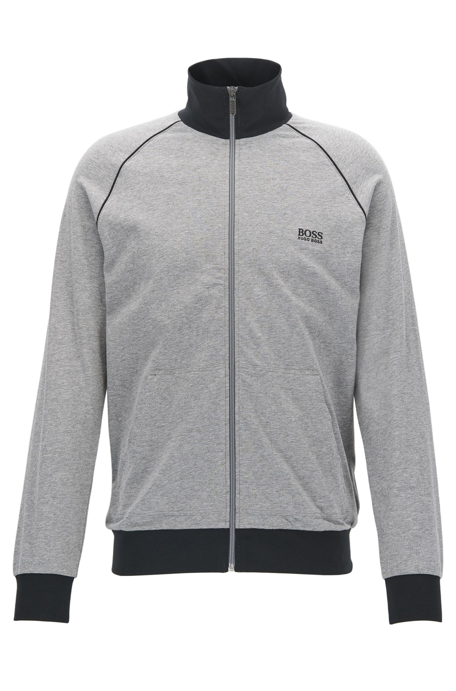 Veste d'intérieur Regular Fit en coton stretch