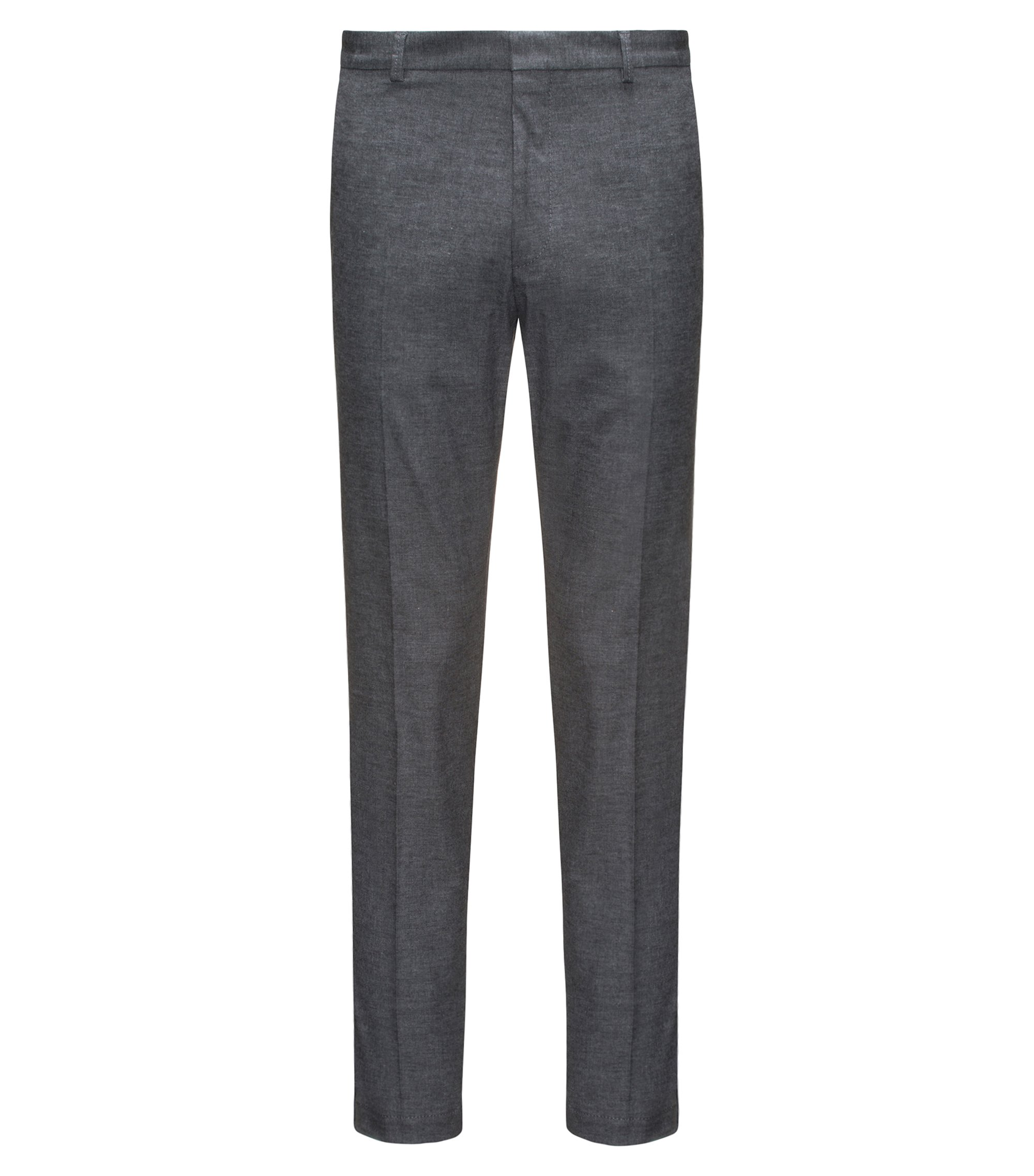 Chino Extra Slim Fit en coton stretch, Gris