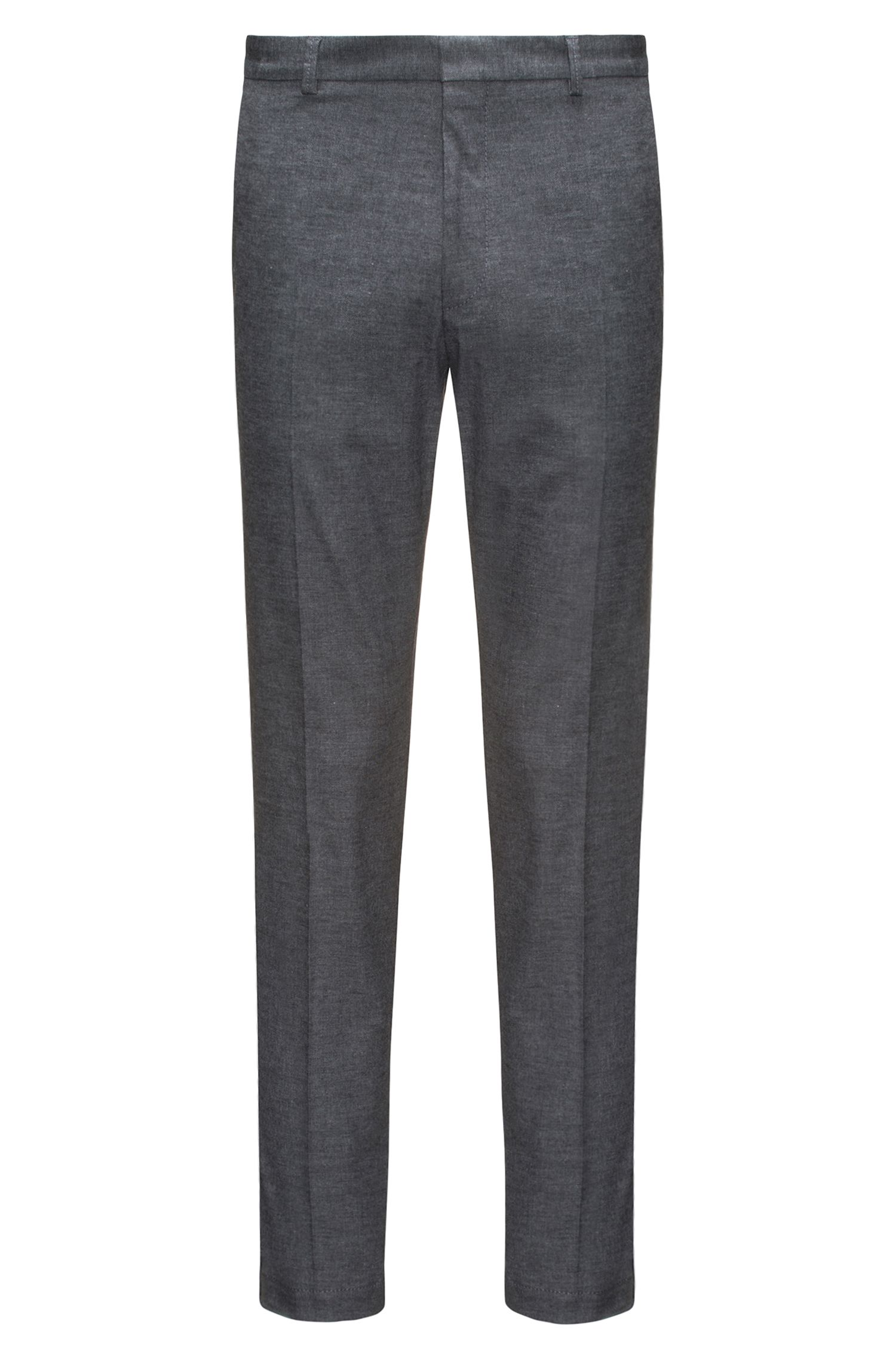 Extra slim-fit chino van stretchkatoen