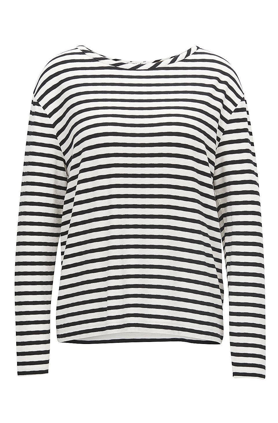 Gestreifter Pullover aus elastischem Material-Mix BOSS Cool Neue Stile Freies Verschiffen Billig Eastbay Verkauf Online UlAbQ