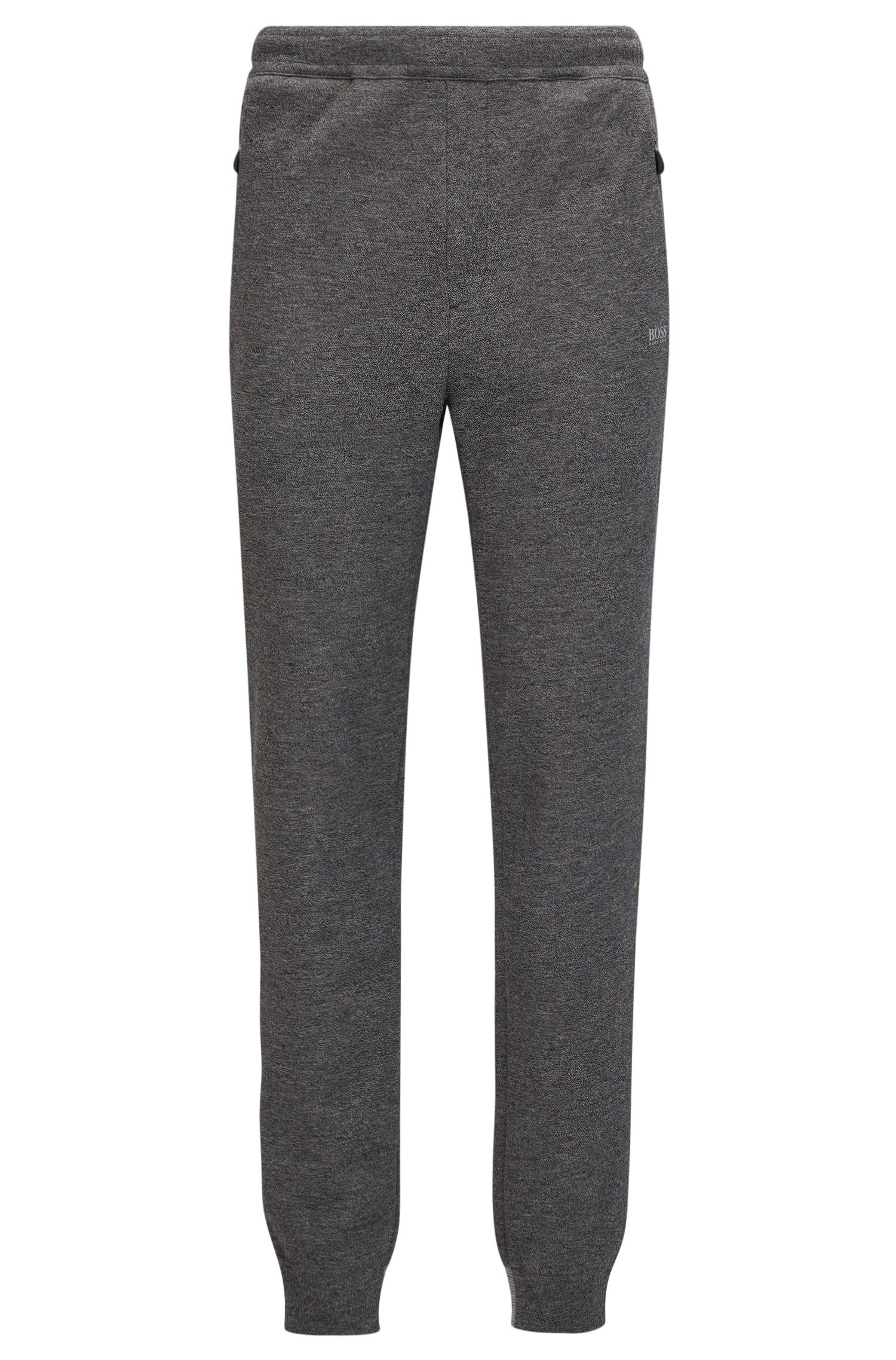 Cotton-blend jogging bottoms in a regular fit