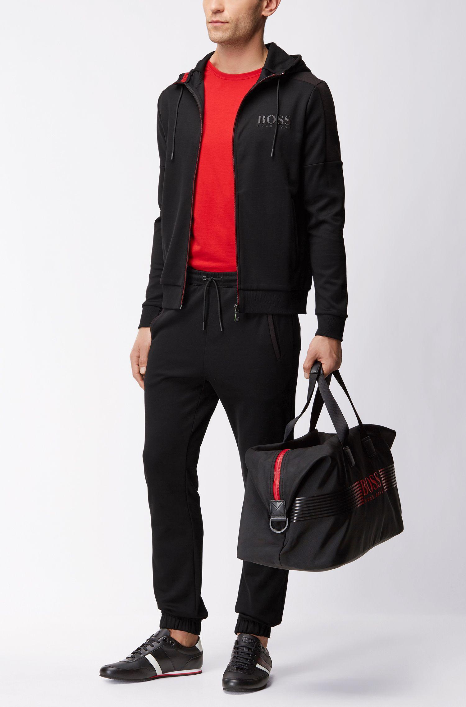 Regular-Fit Jacke aus Baumwoll-Mix