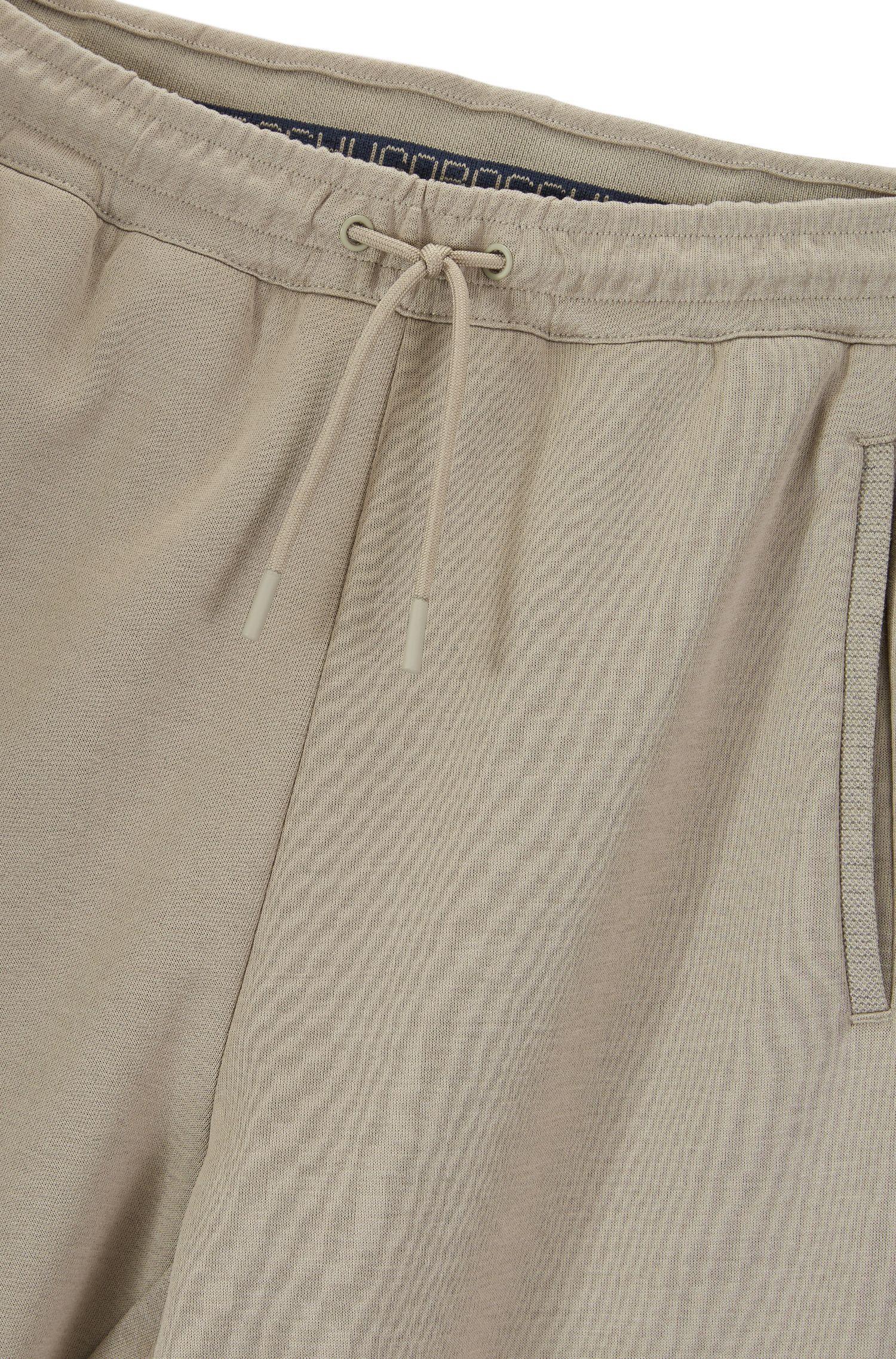 Regular-fit joggingbroek van een katoenmix