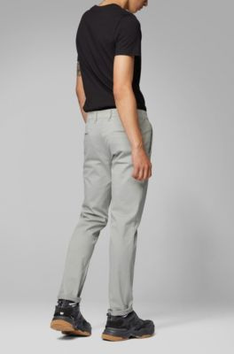 Fit Stretch Cotton In Brushed Slim Casual Chinos SUpqGzMV
