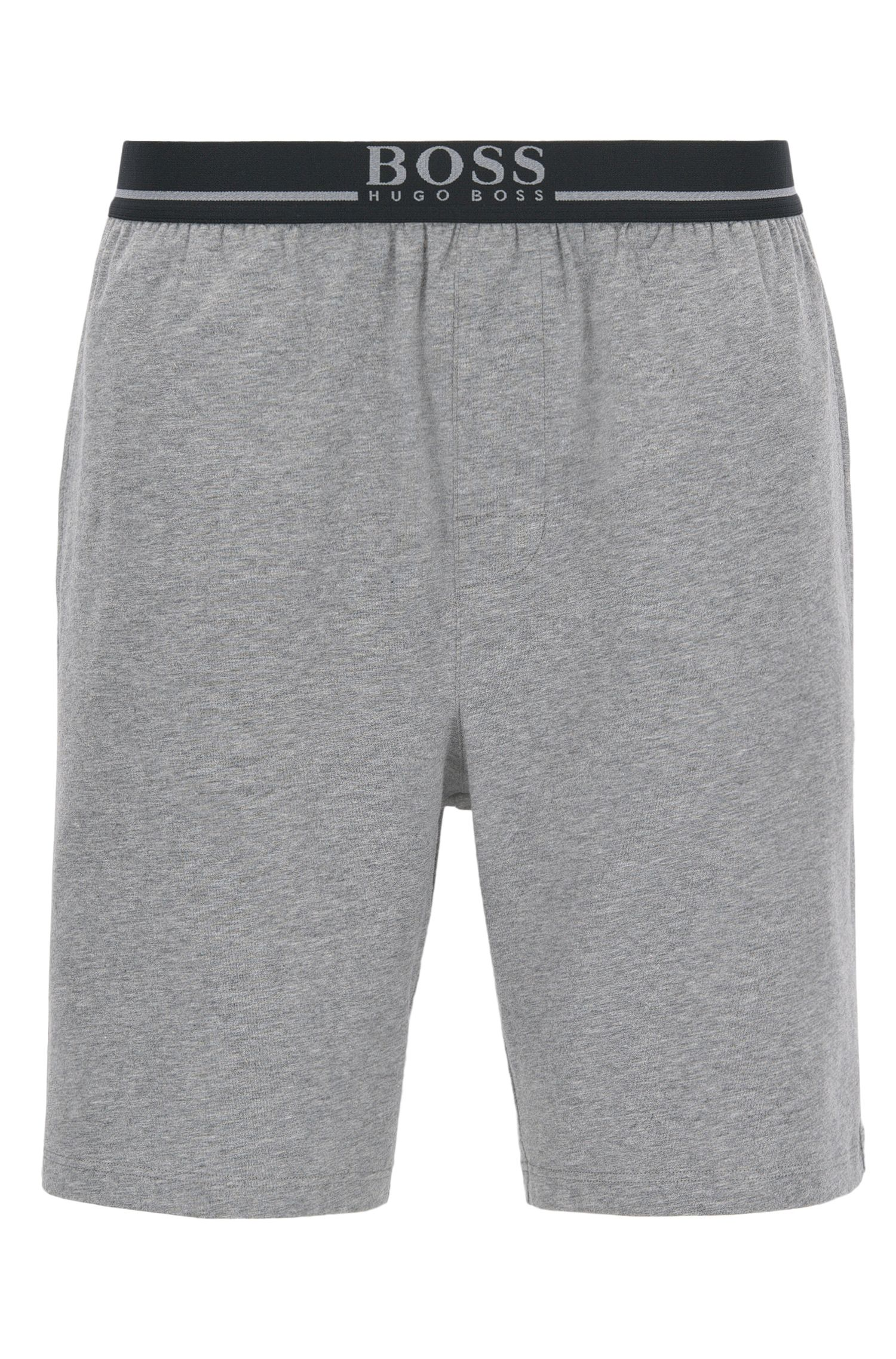 Loungewear-Shorts aus Single Jersey