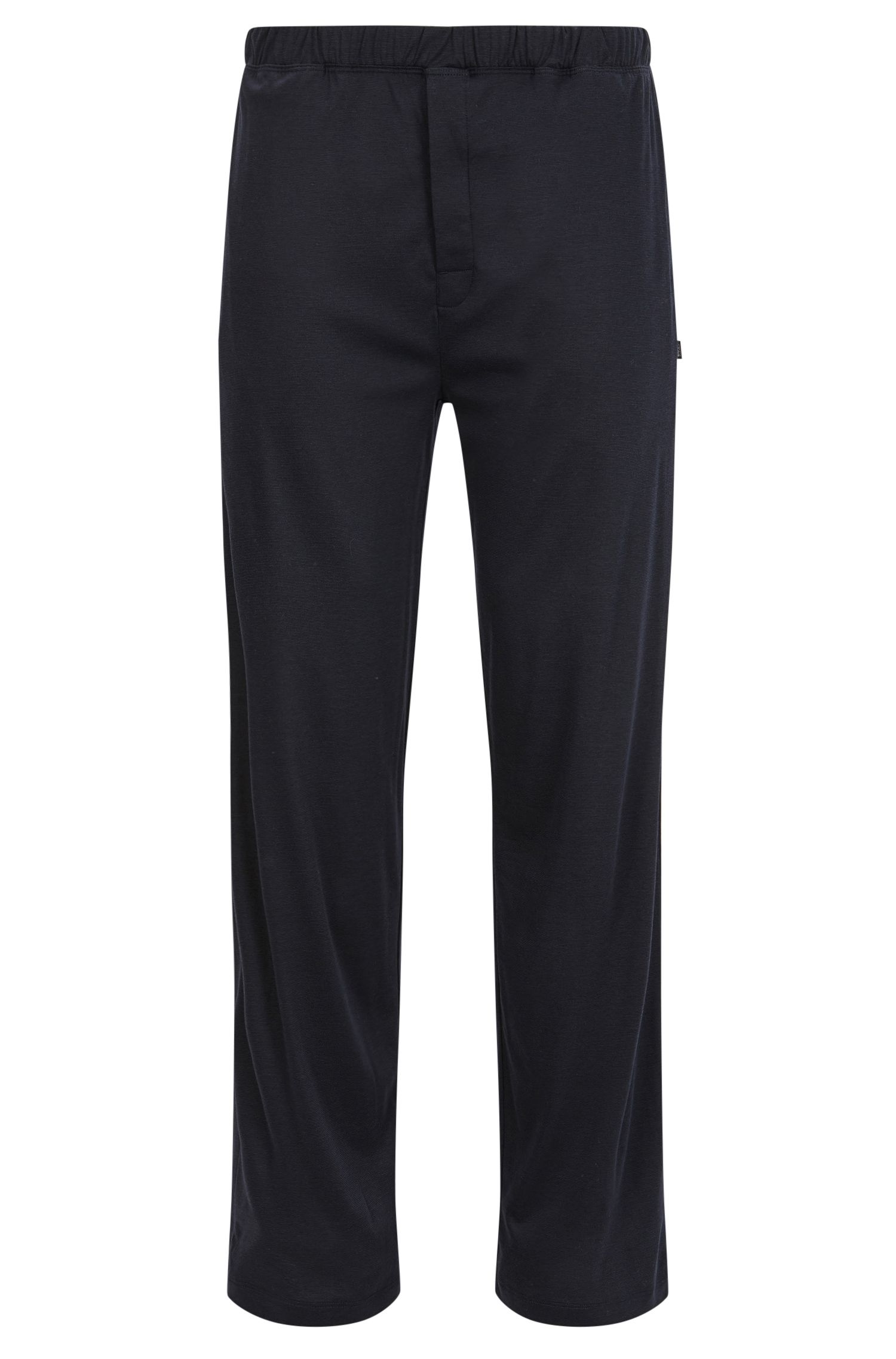 Pyjama bottoms in cotton-modal single jersey