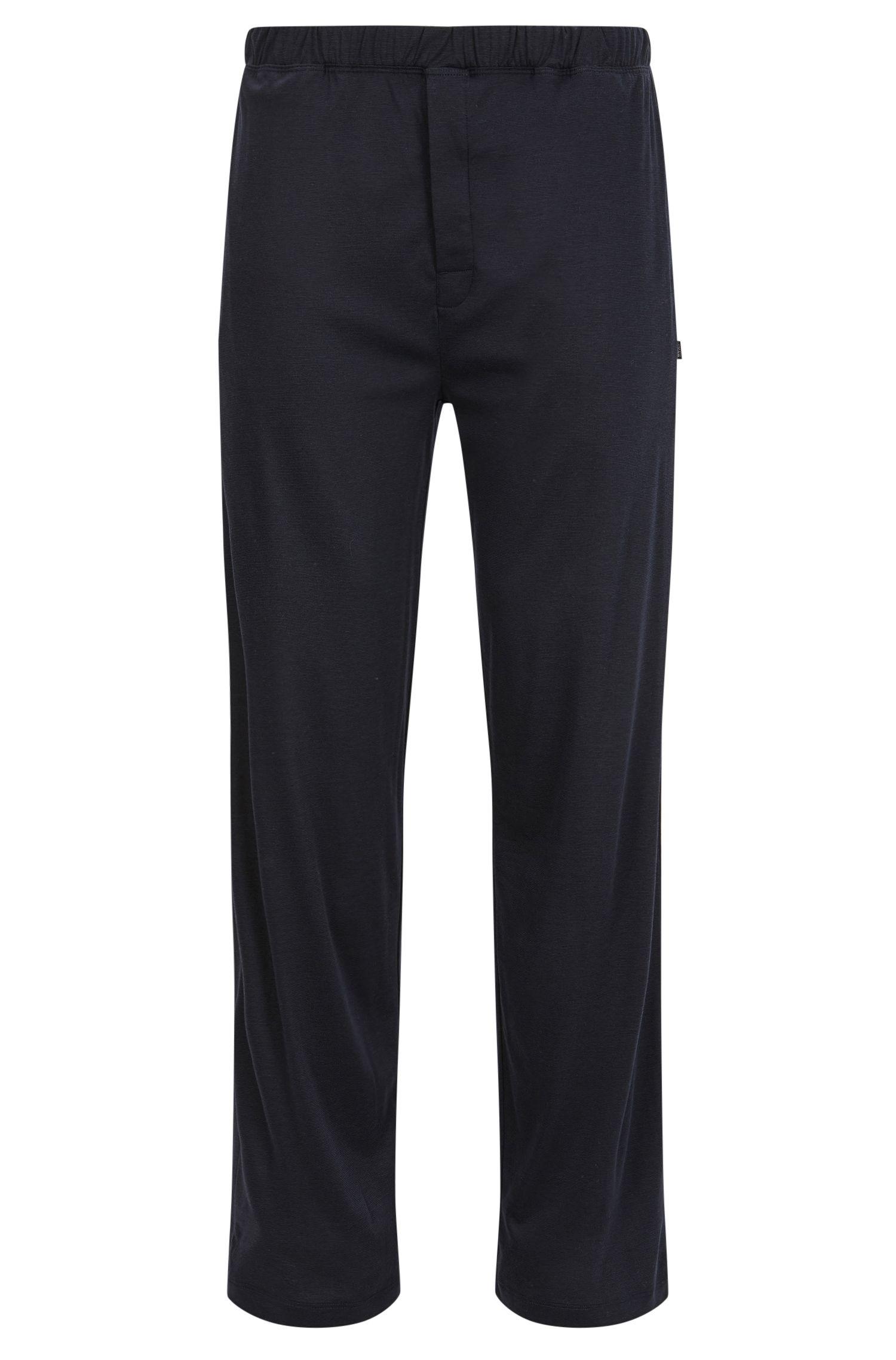 Pyjama bottoms in cotton-modal single jersey