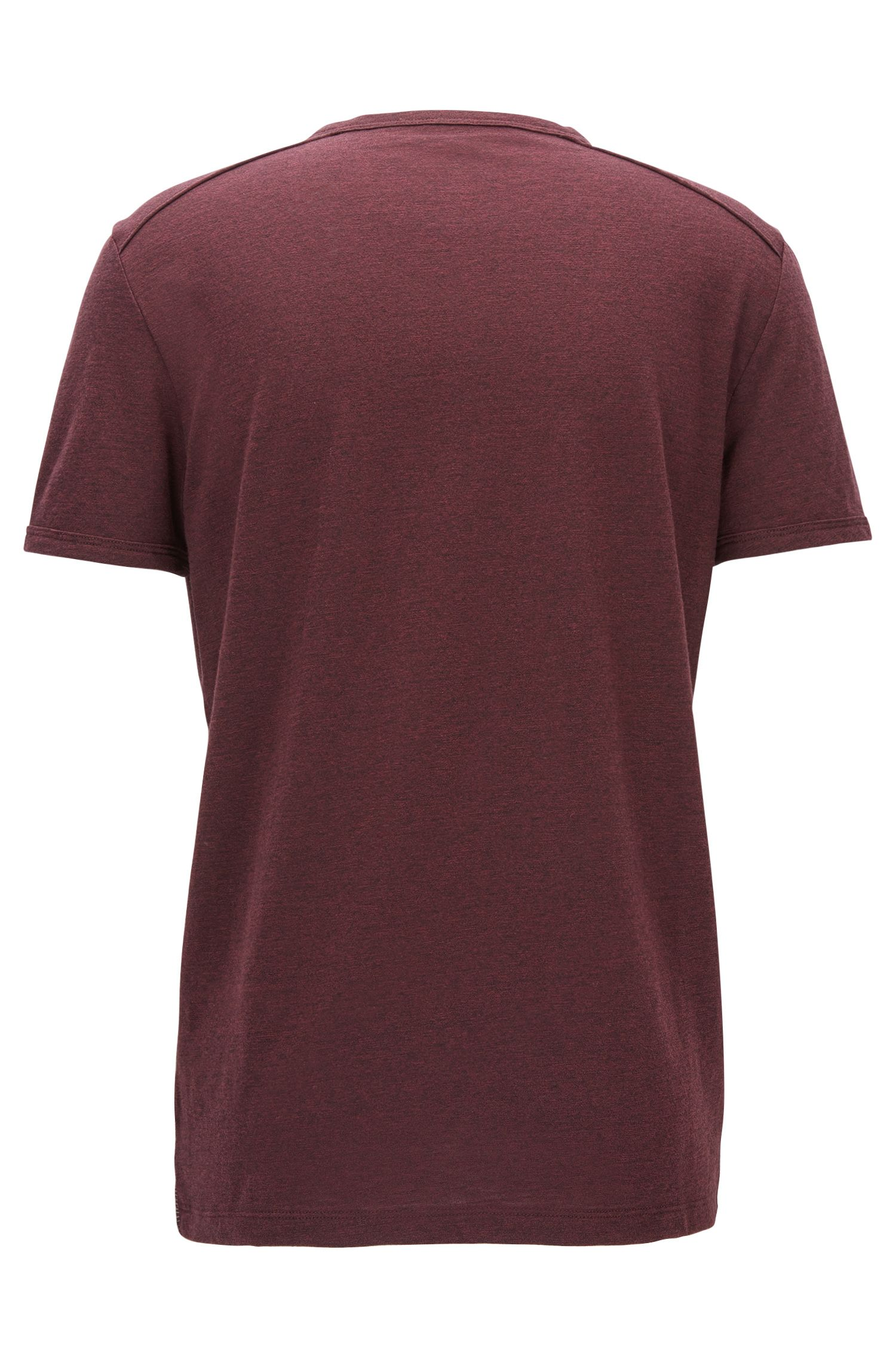Relaxed-fit T-shirt van moulinéjersey