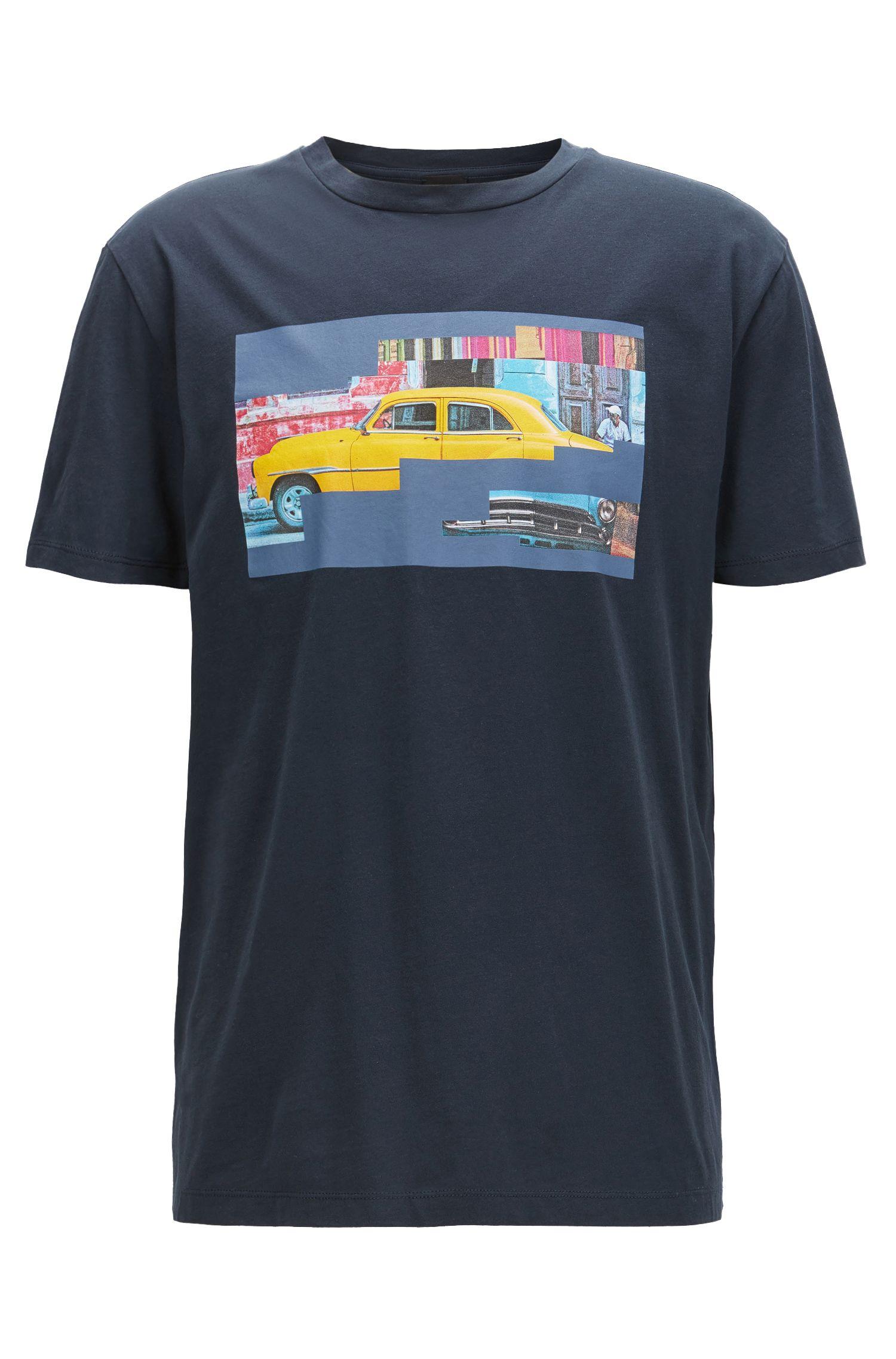 T-shirt Regular Fit en coton motif Cuba