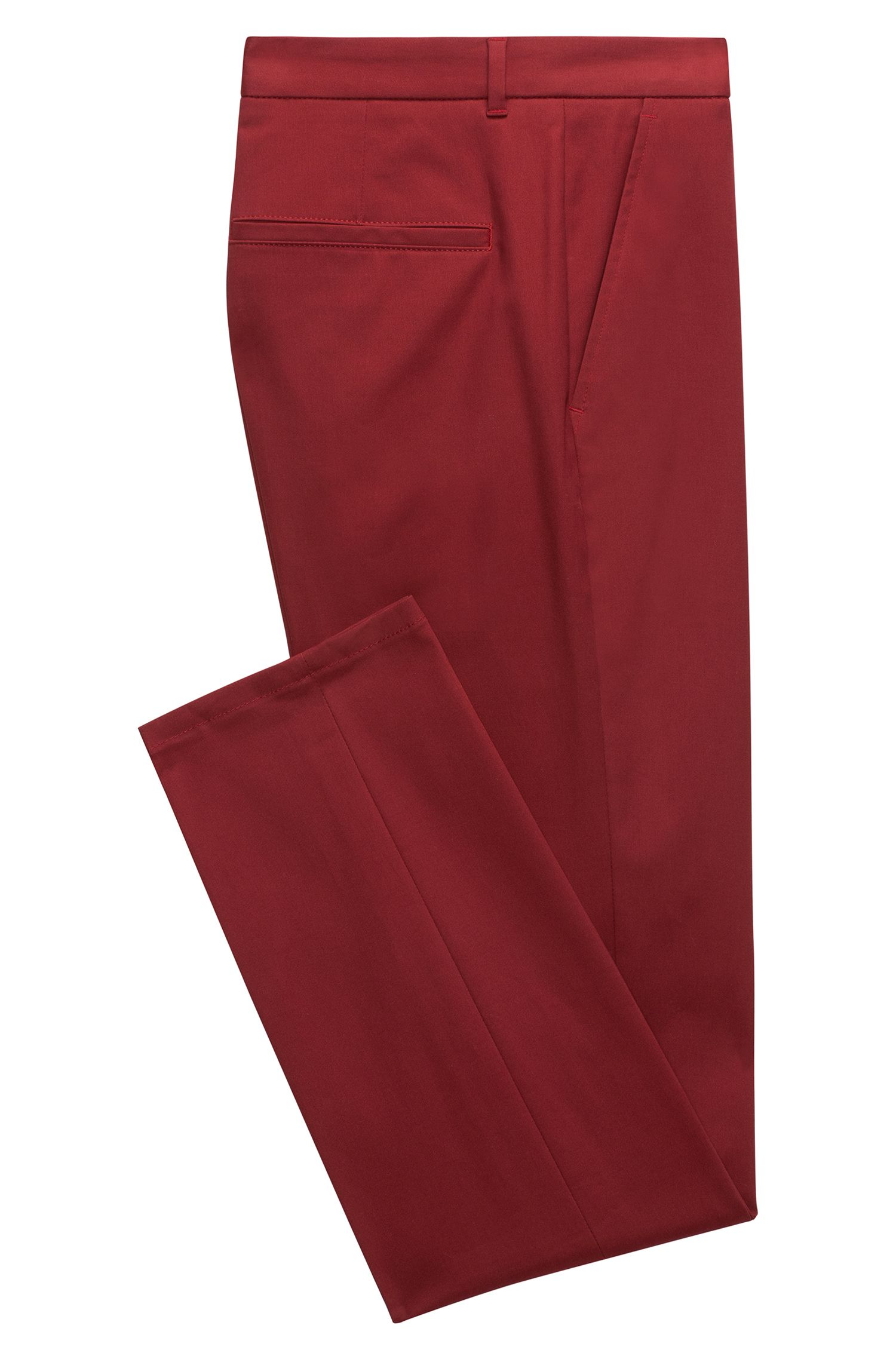 Pantalon Extra Slim Fit en gabardine stretch