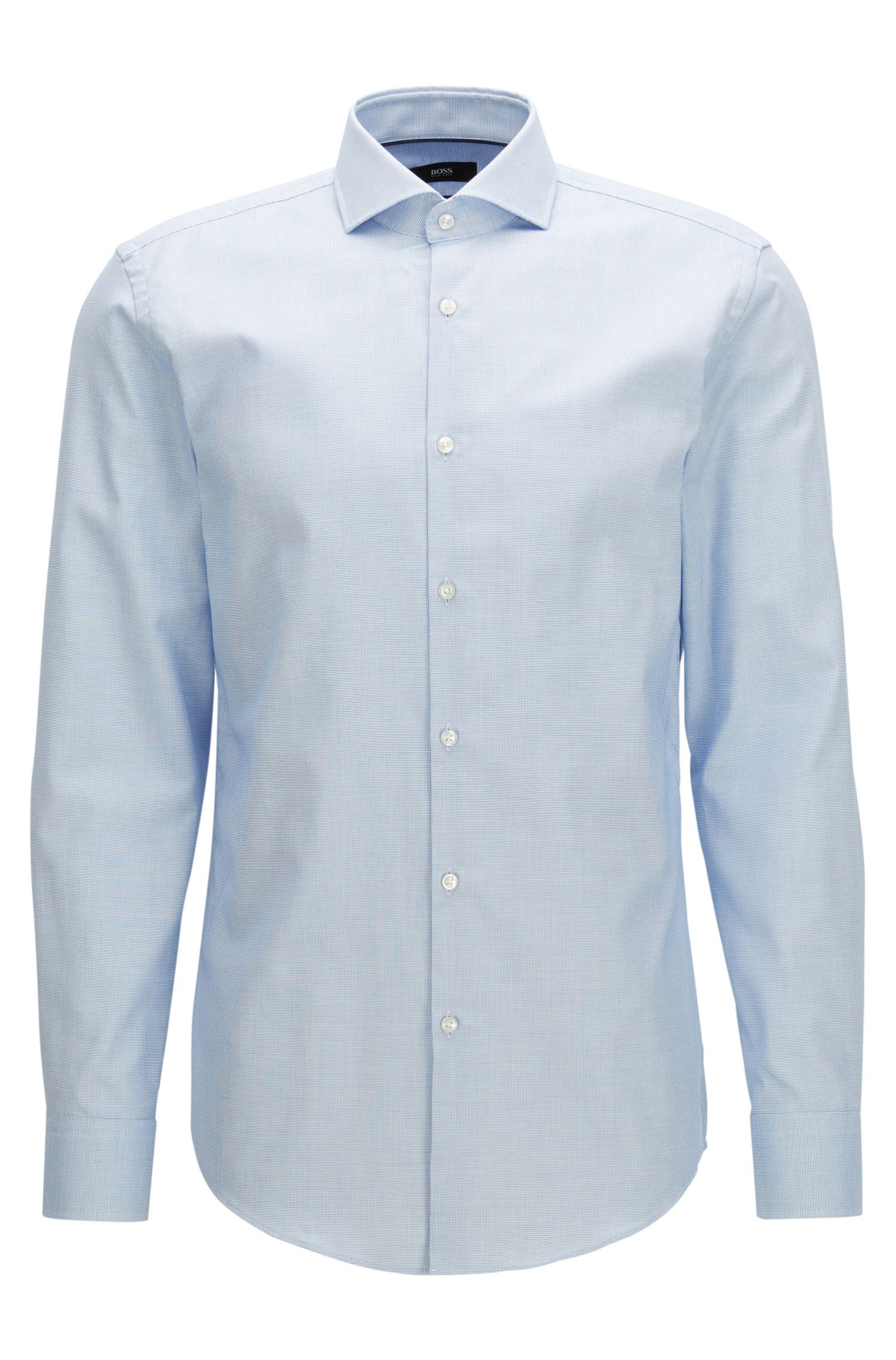 Slim-fit shirt in Fresh Active cotton