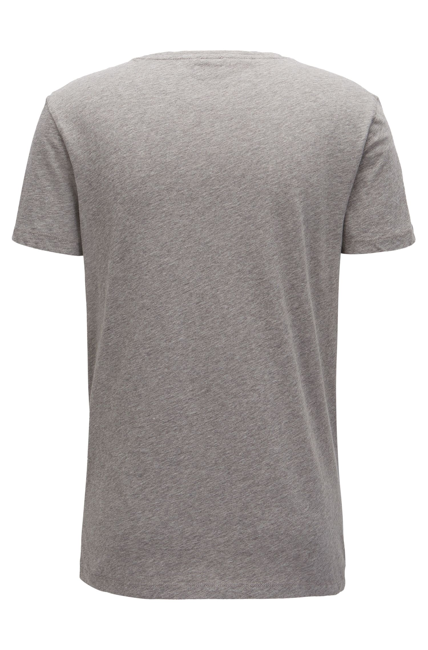 Slim-fit logo T-shirt in cotton
