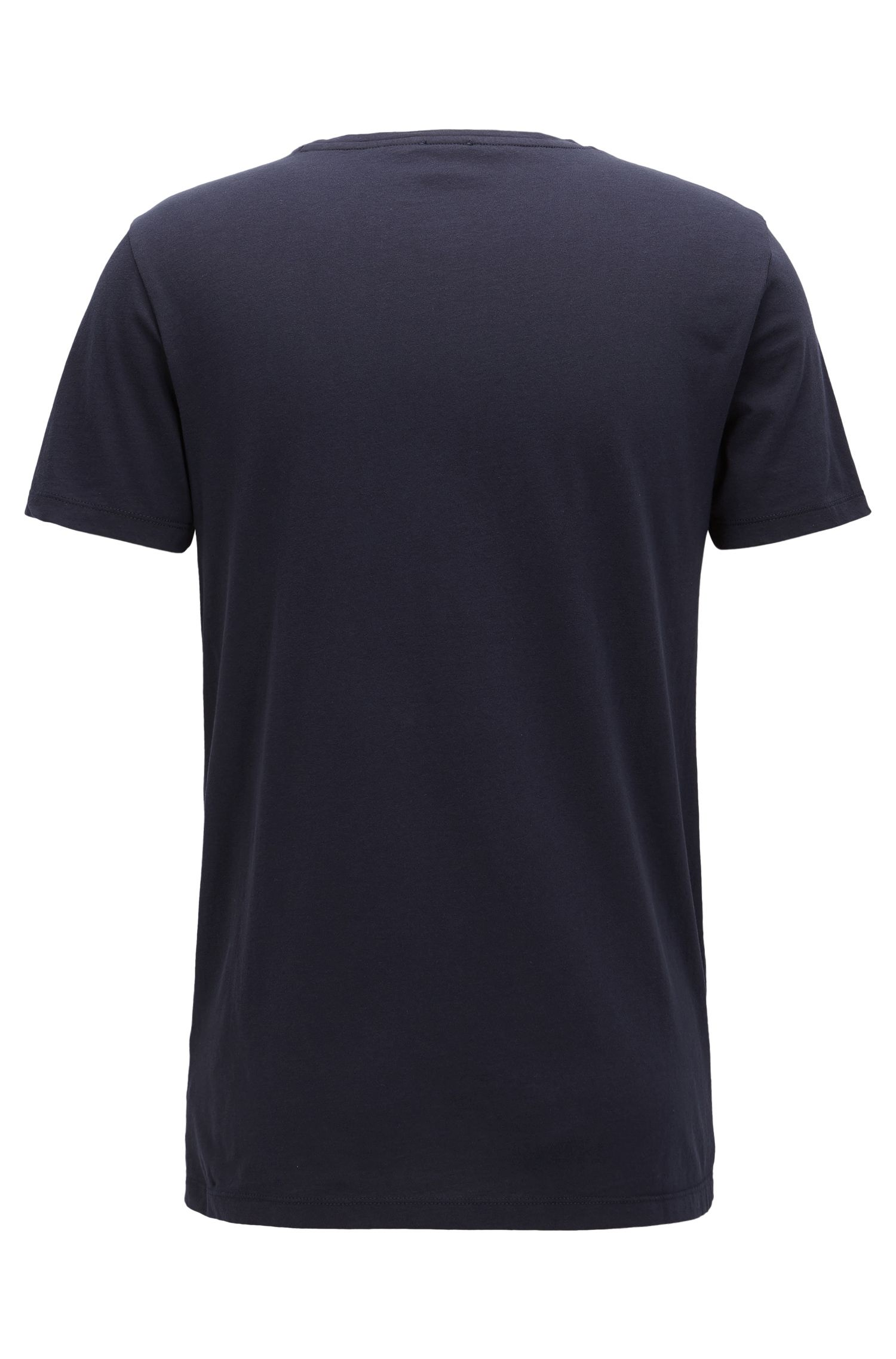 T-shirt logo Slim Fit en coton