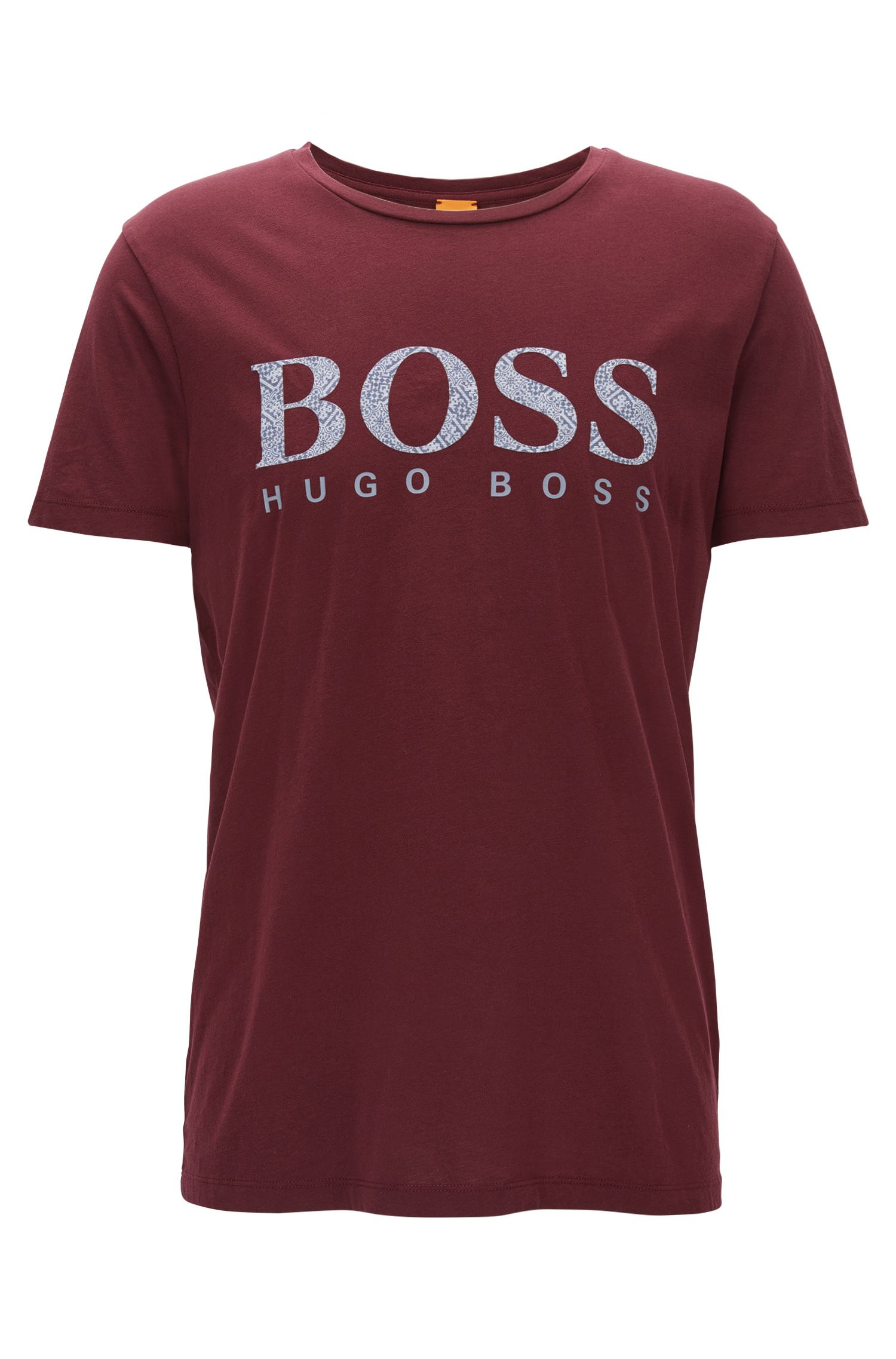 T-shirt logo Slim Fit en coton