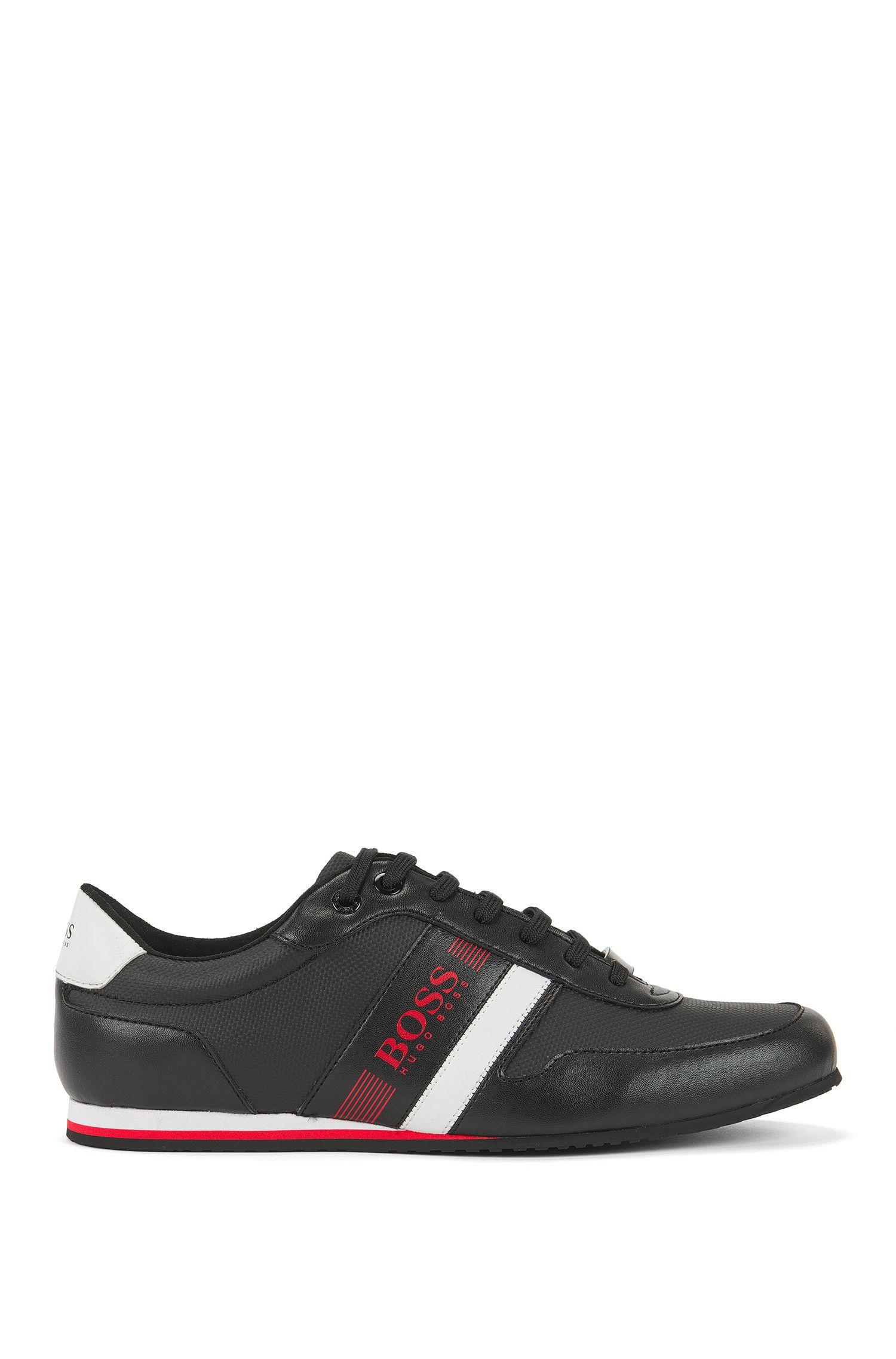 Sneakers low-top ultraleggere in tela rivestita