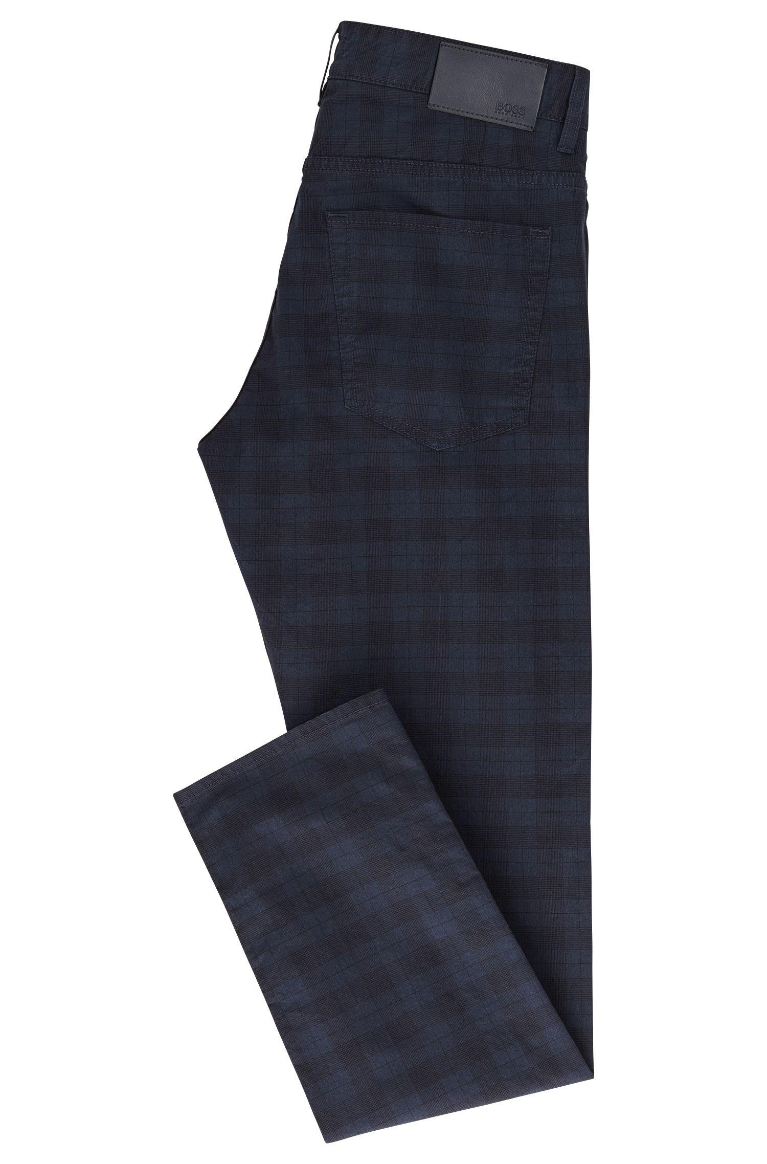 Slim-fit jeans van stretchkatoen