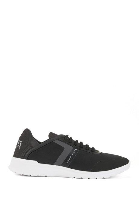 Neuester Günstiger Preis Lowtop Sneakers aus Neopren mit Streifen BOSS Qualität Frei Für Verkauf Wahl Online KKOizVLdYH