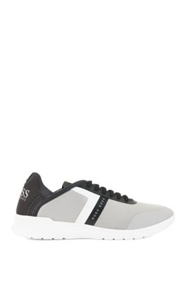 Best Prices Low-top trainers in neoprene and microfibre BOSS Shop Your Own Buy Cheap Best Seller Amazing Price Discount 2018 New 3QWH1brju
