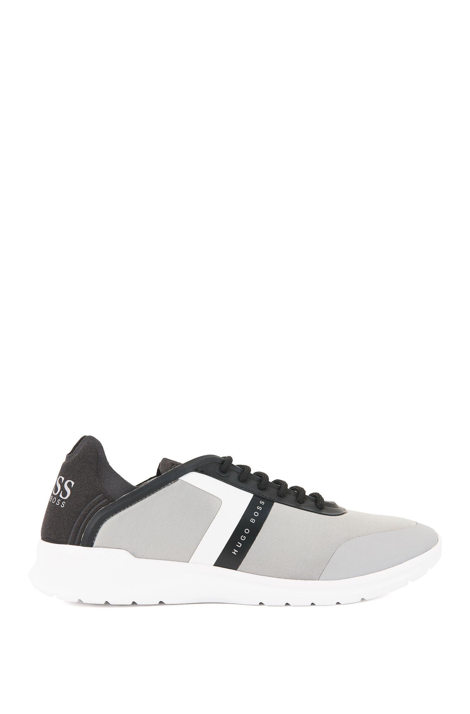 Sneakers low-top in neoprene e microfibra