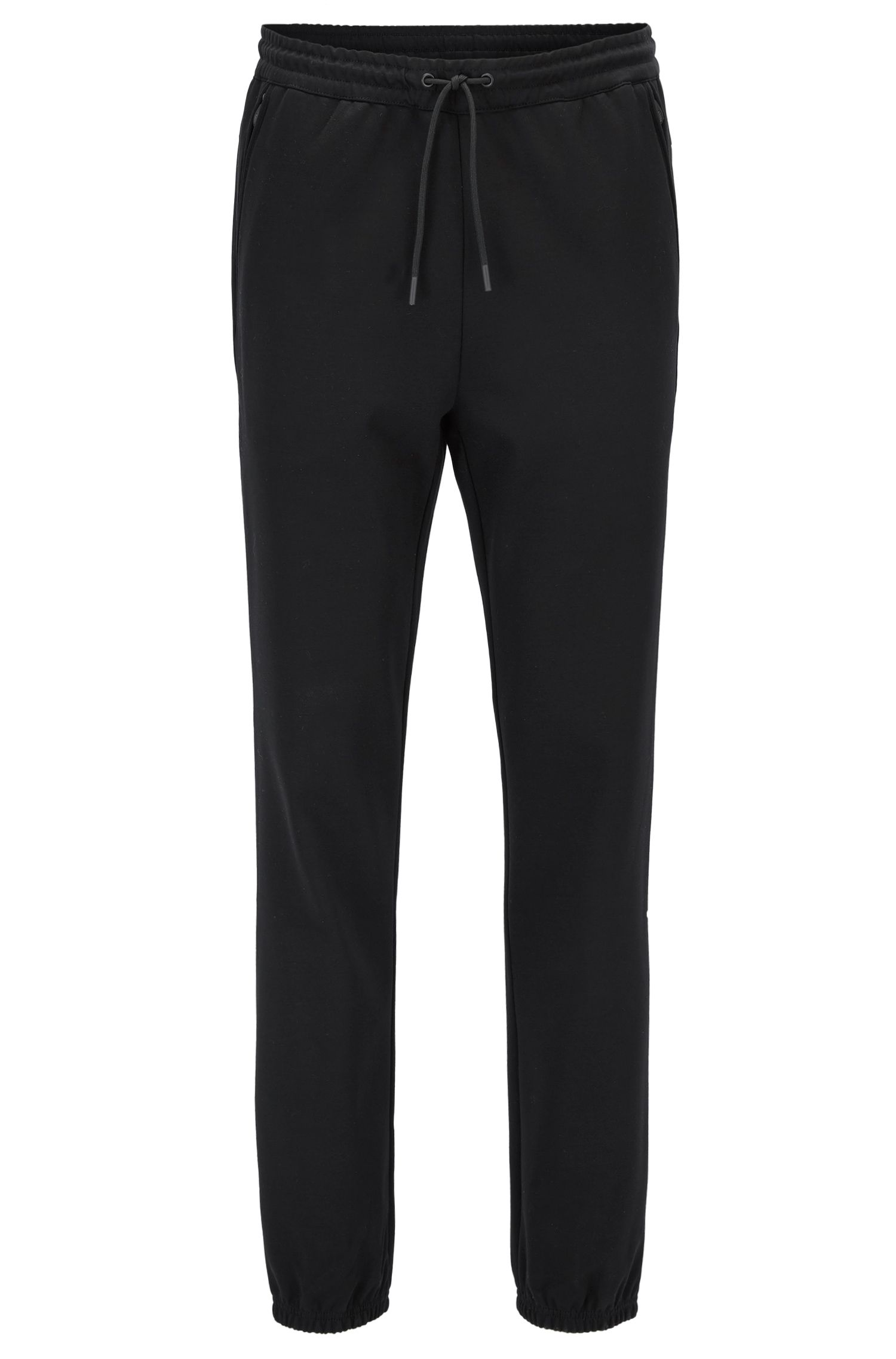 Pantaloni slim fit in misto cotone idrorepellente