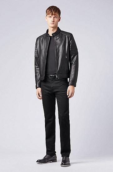 常规版柔软棉质T恤,  001_黑色